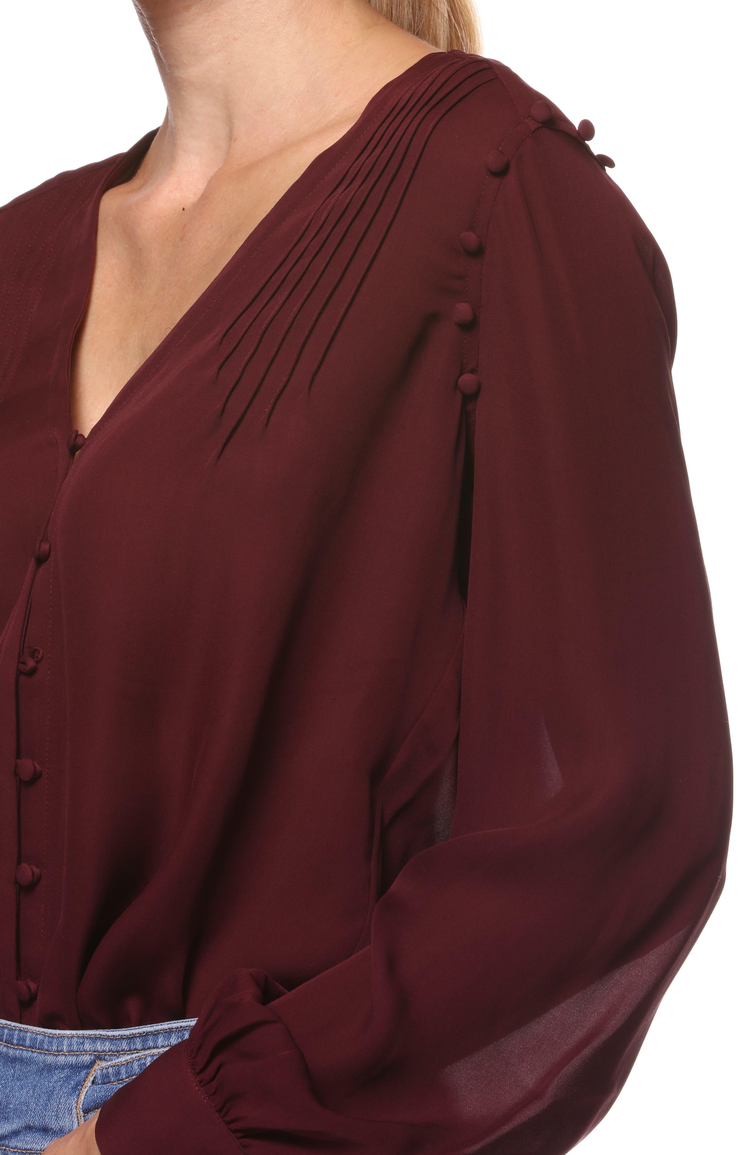 Aurinda Silk Top,                             Alternate thumbnail 3, color,                             603