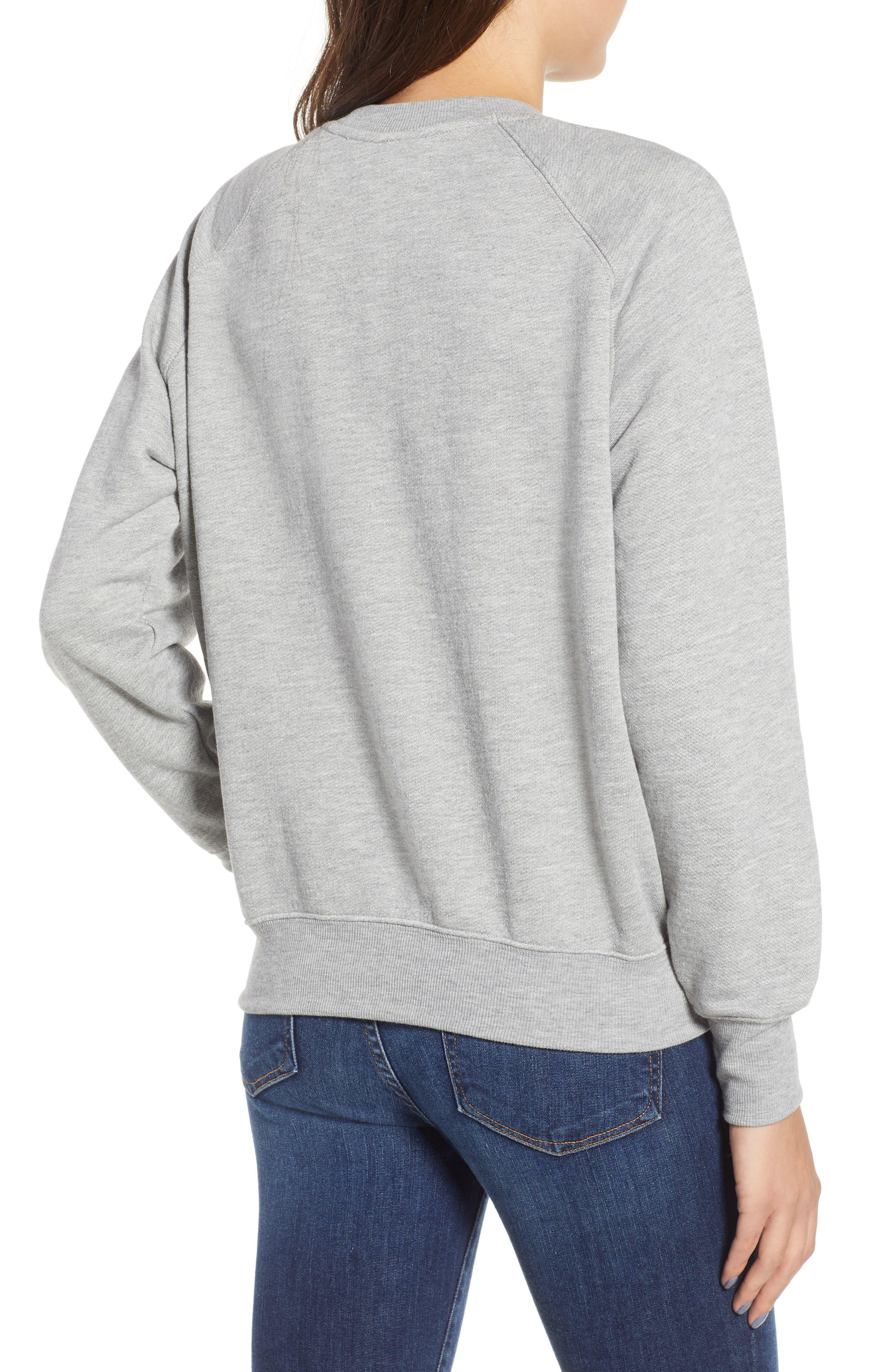 Sweatshirt,                             Alternate thumbnail 8, color,