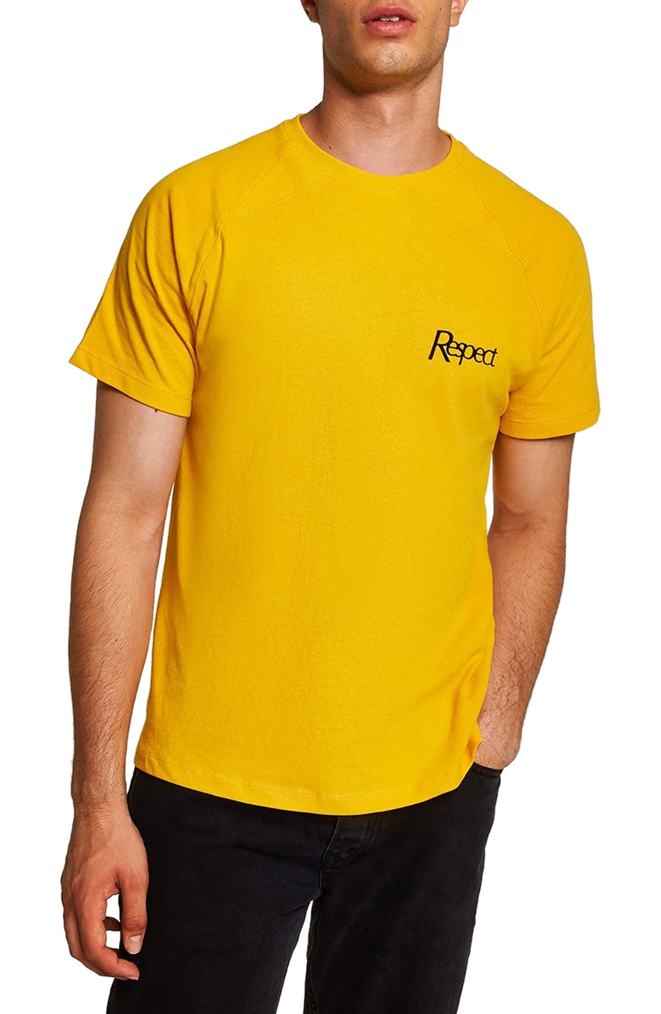Respect Classic Fit T-Shirt,                         Main,                         color, 710