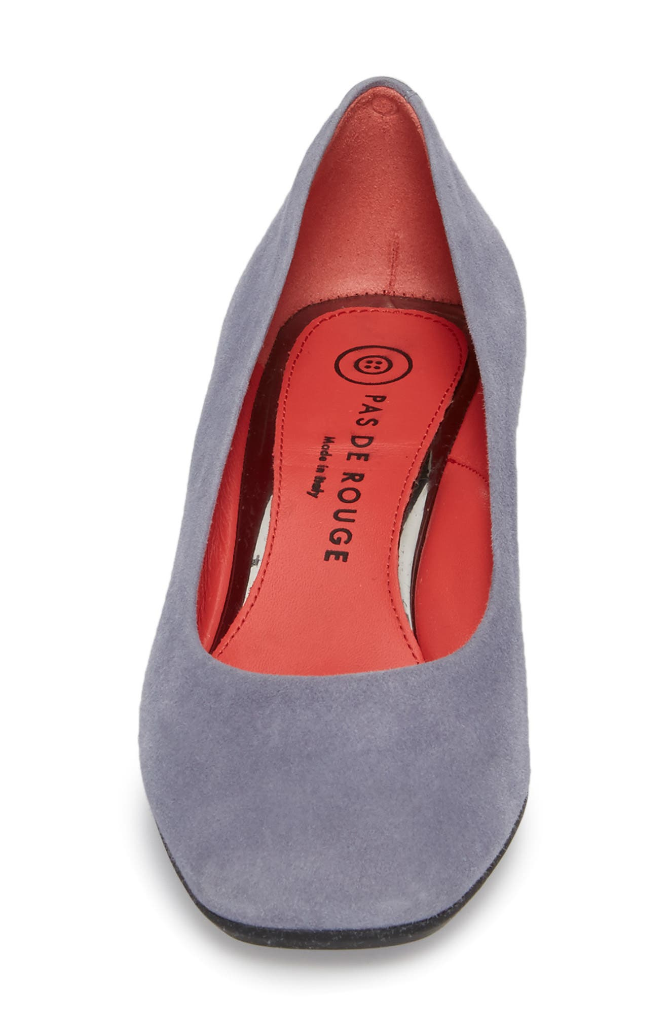 Chantal Pump,                             Alternate thumbnail 5, color,                             SERENITY SUEDE