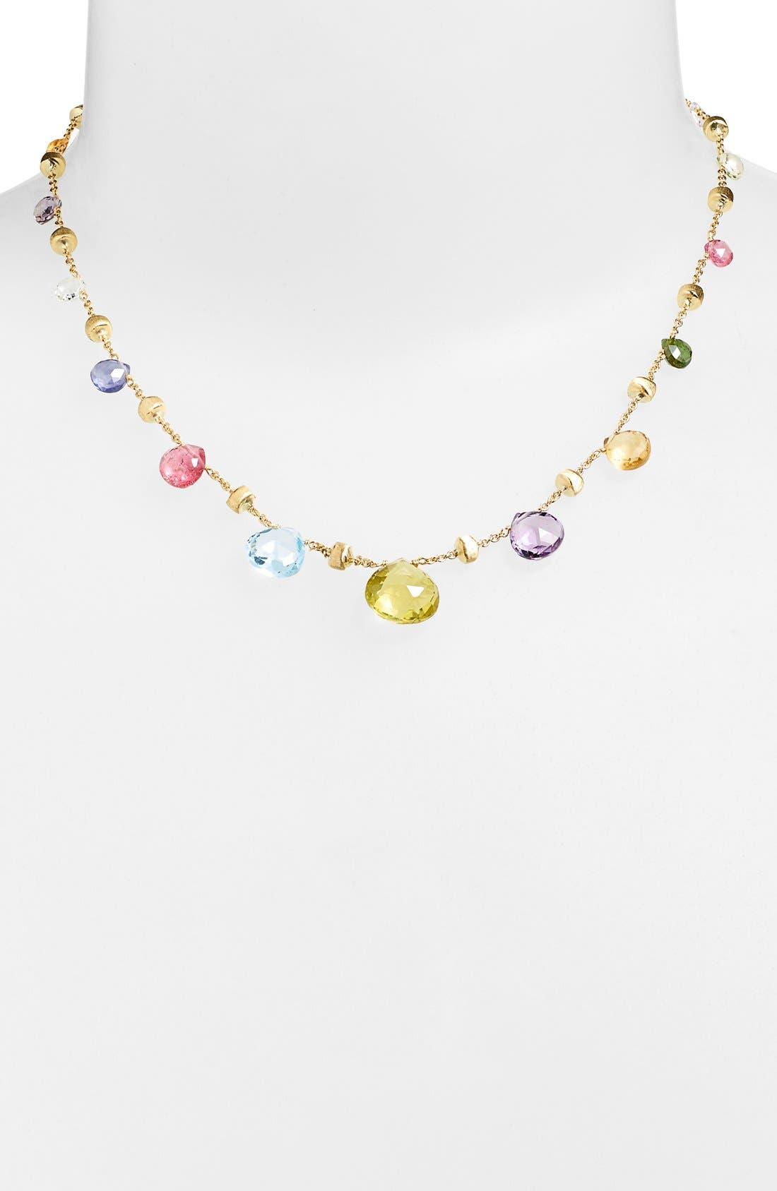 'Paradise' Collar Necklace,                             Main thumbnail 1, color,                             710