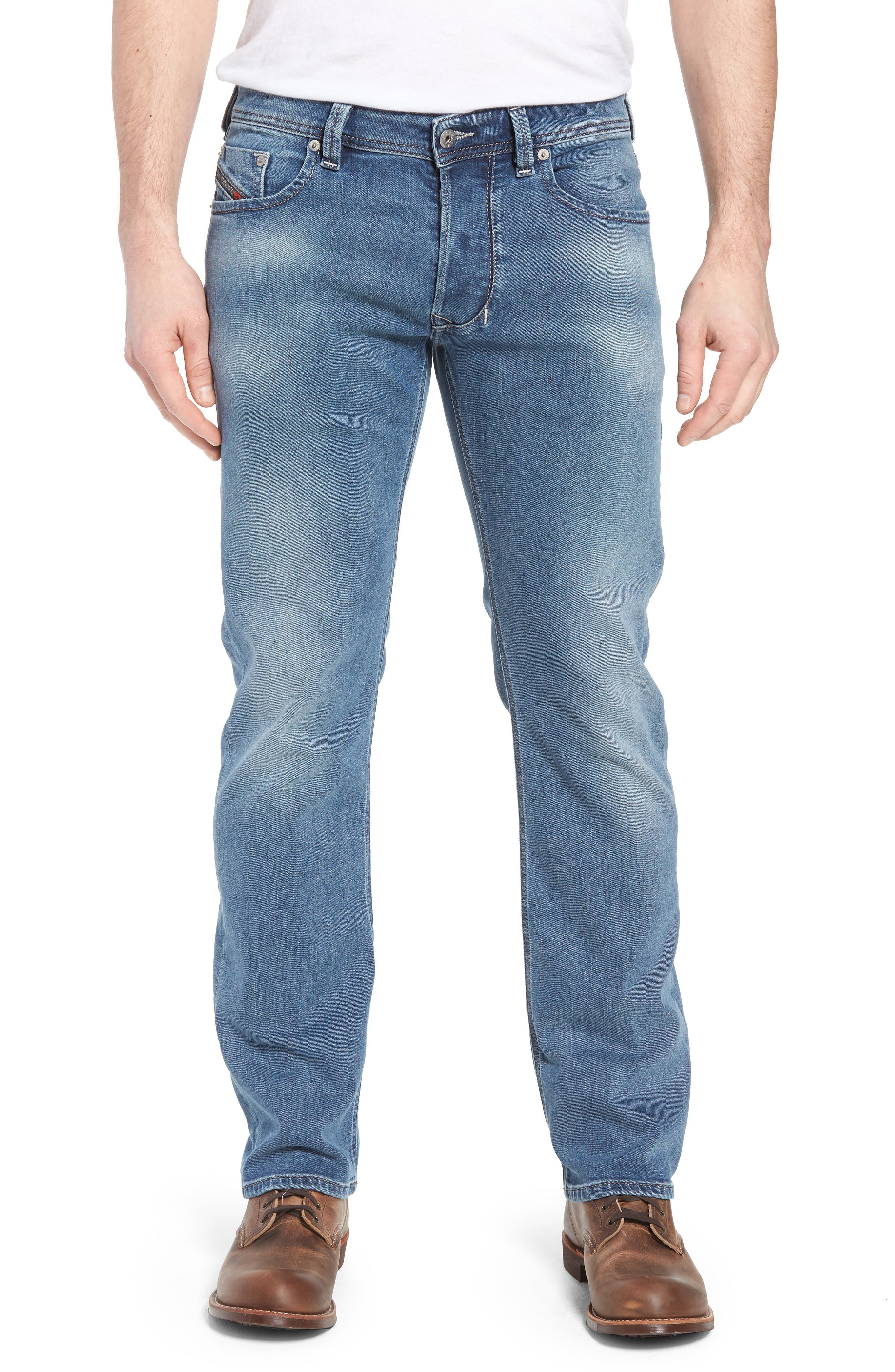 Larkee Relaxed Fit Jeans,                             Main thumbnail 1, color,                             400