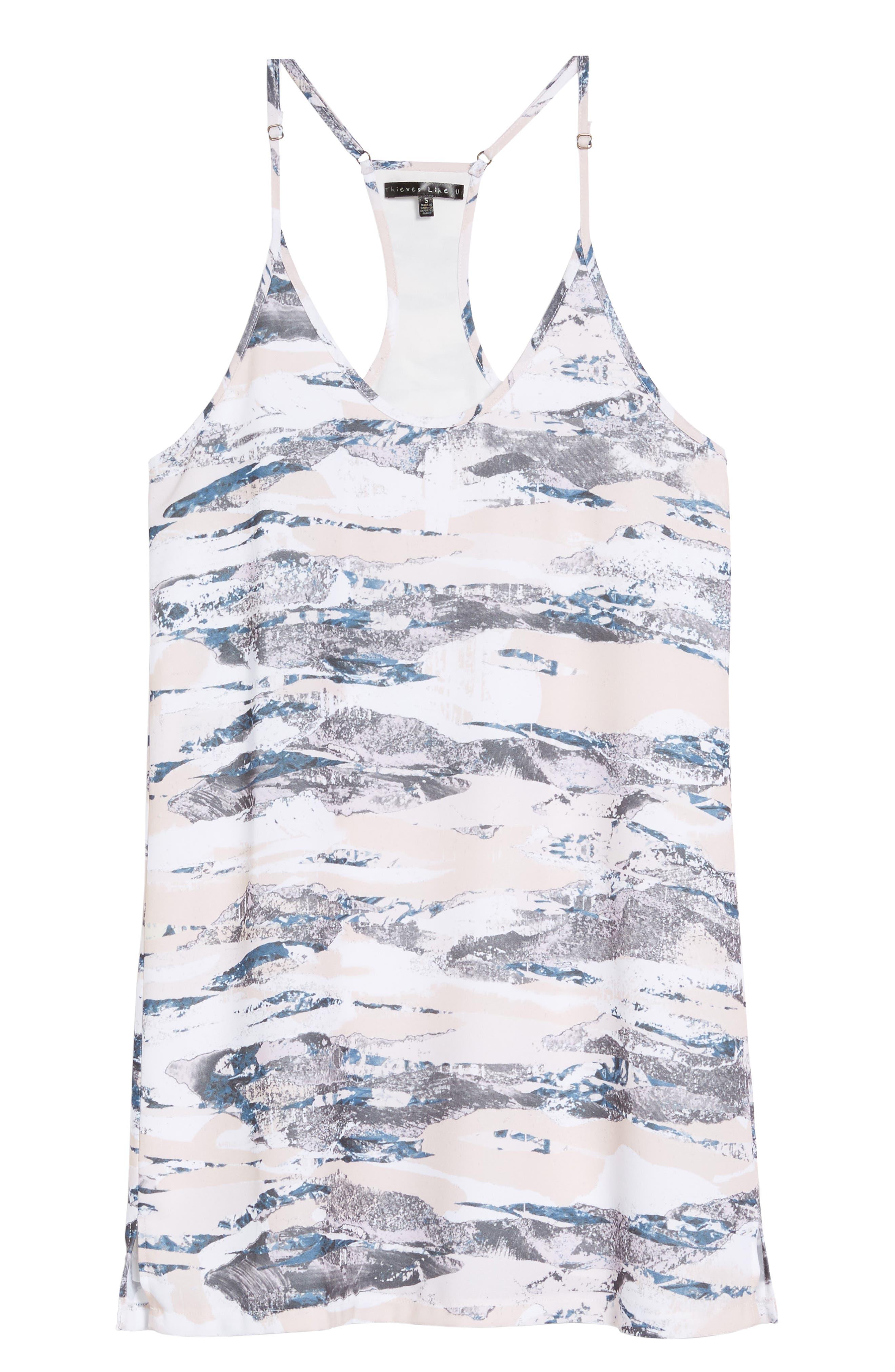 Racerback Tank Dress,                             Alternate thumbnail 6, color,                             020
