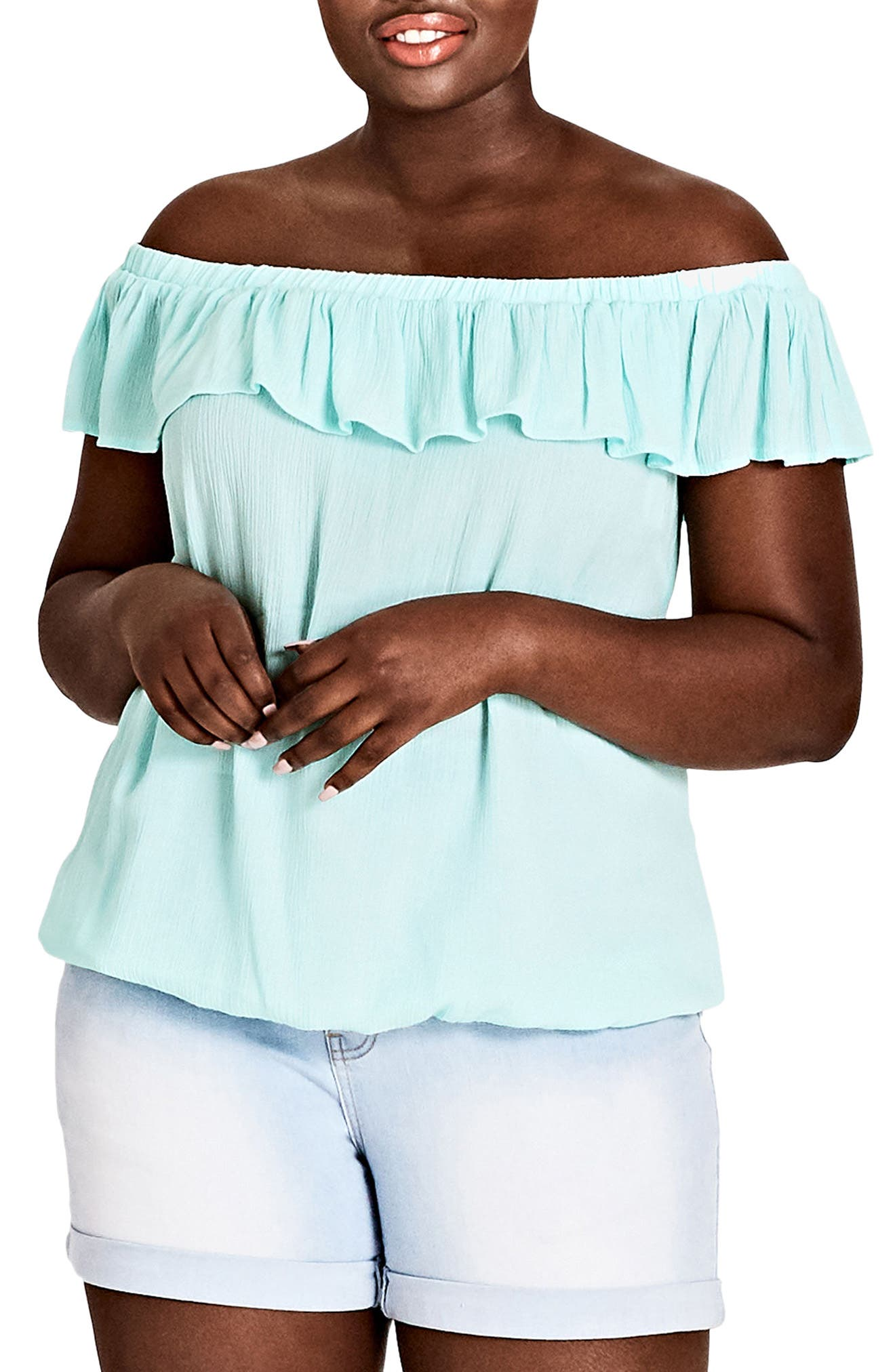Summer Delight Top,                         Main,                         color, MINT