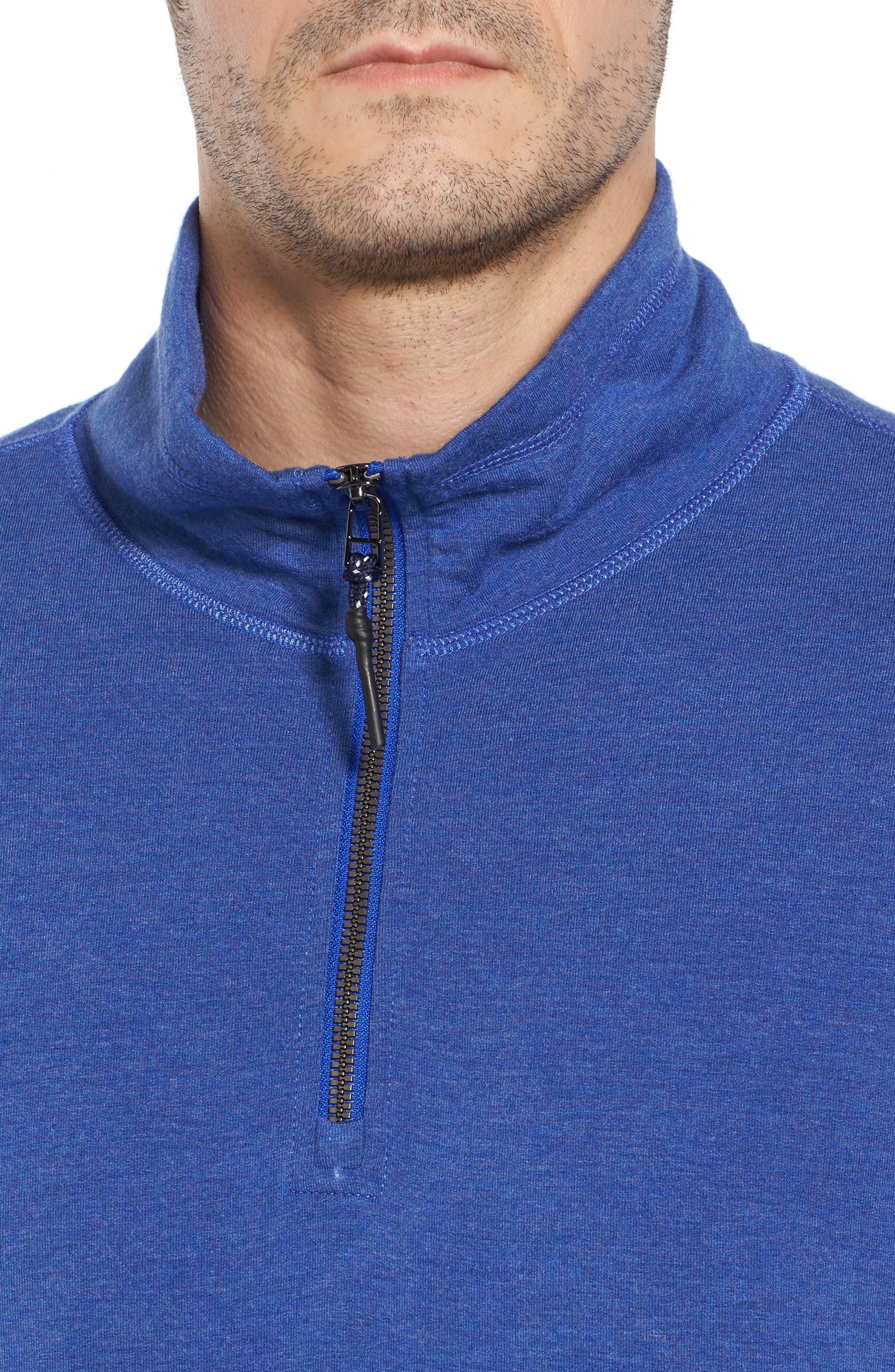 Brushback Quarter Zip Pullover,                             Alternate thumbnail 11, color,