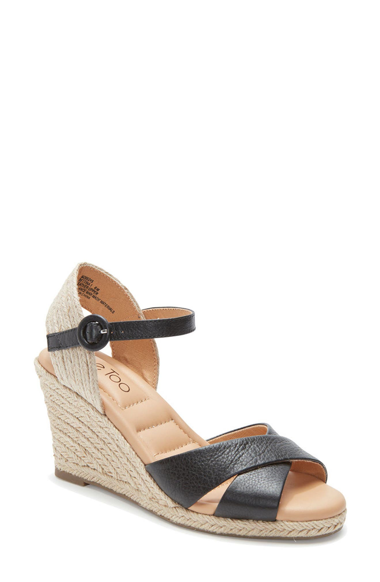 Bettina Espadrille Wedge Sandal,                         Main,                         color, 010