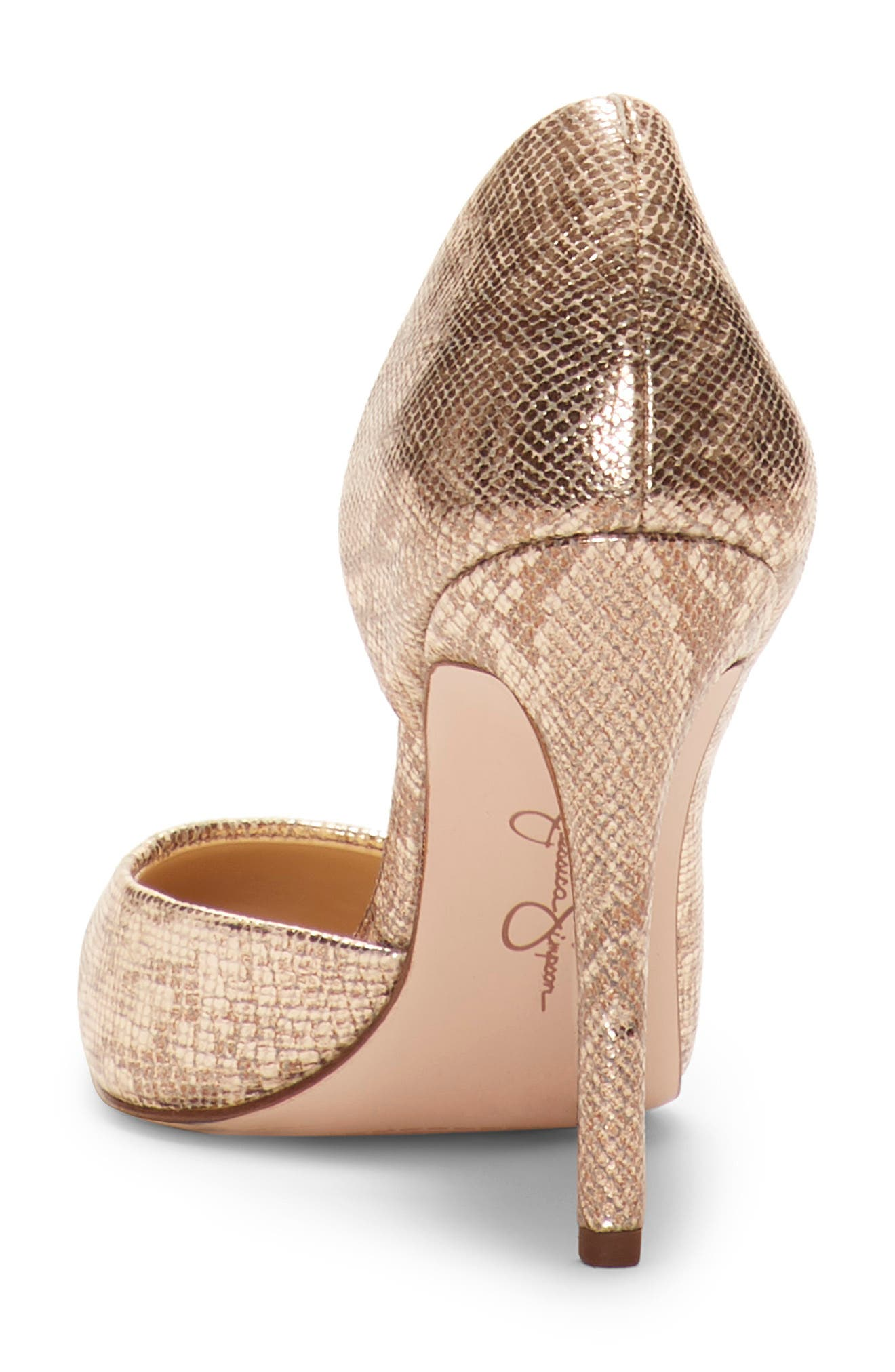 JESSICA SIMPSON,                             Pheona Pump,                             Alternate thumbnail 6, color,                             KARAT GOLD