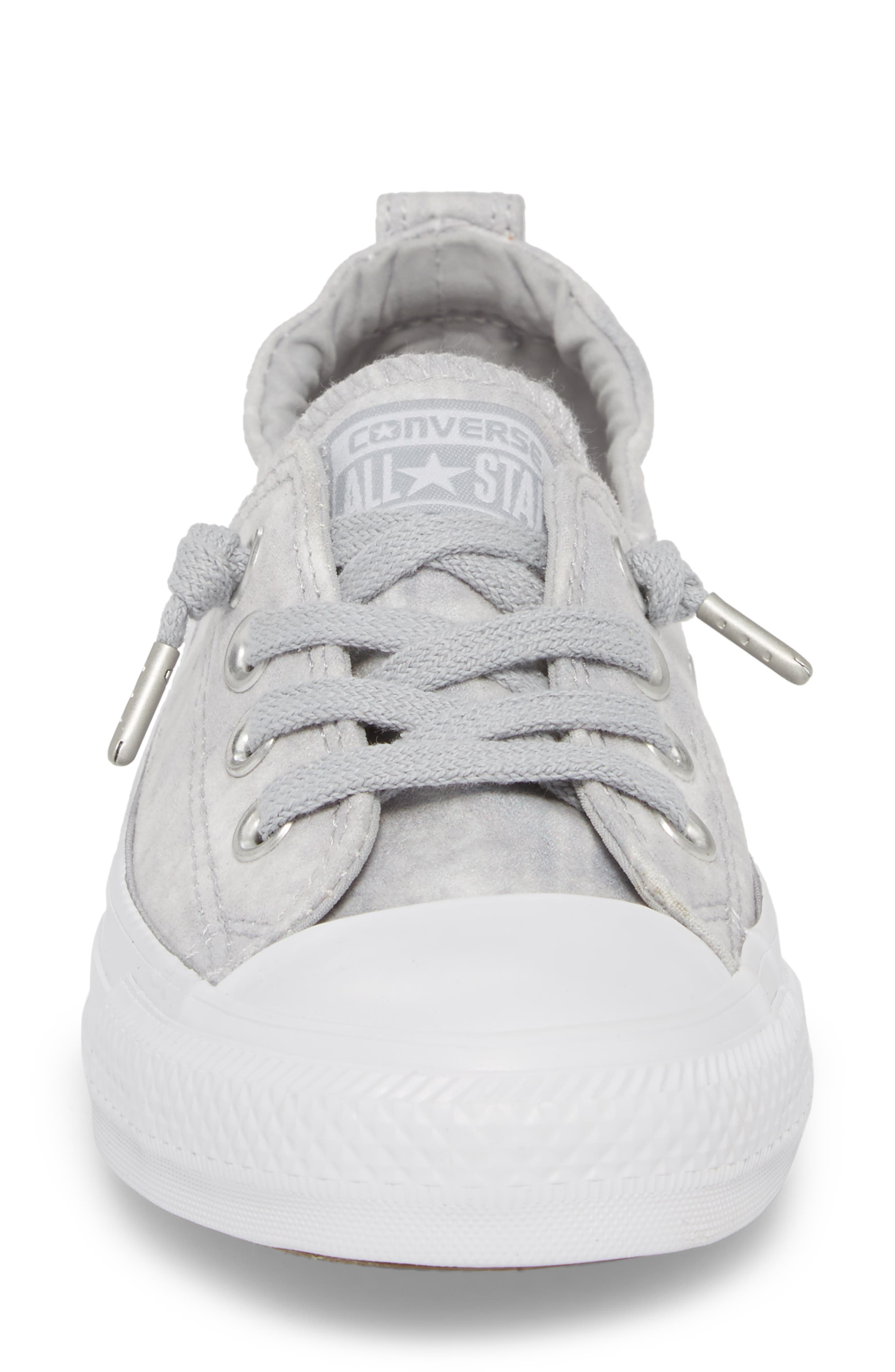 Chuck Taylor<sup>®</sup> All Star<sup>®</sup> Shoreline Peached Twill Sneaker,                             Alternate thumbnail 4, color,                             027