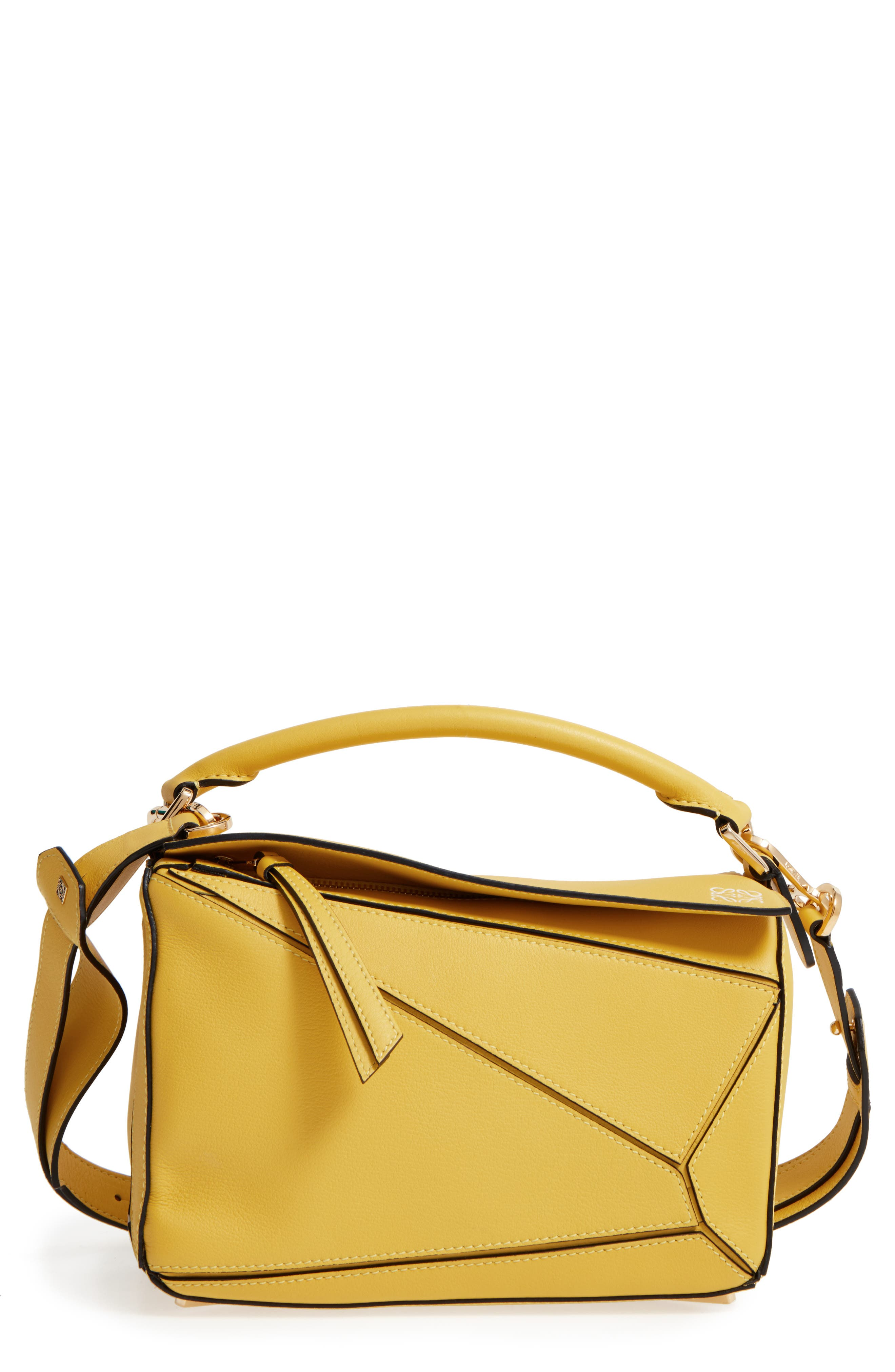 'Small Puzzle' Calfskin Leather Bag,                             Main thumbnail 10, color,