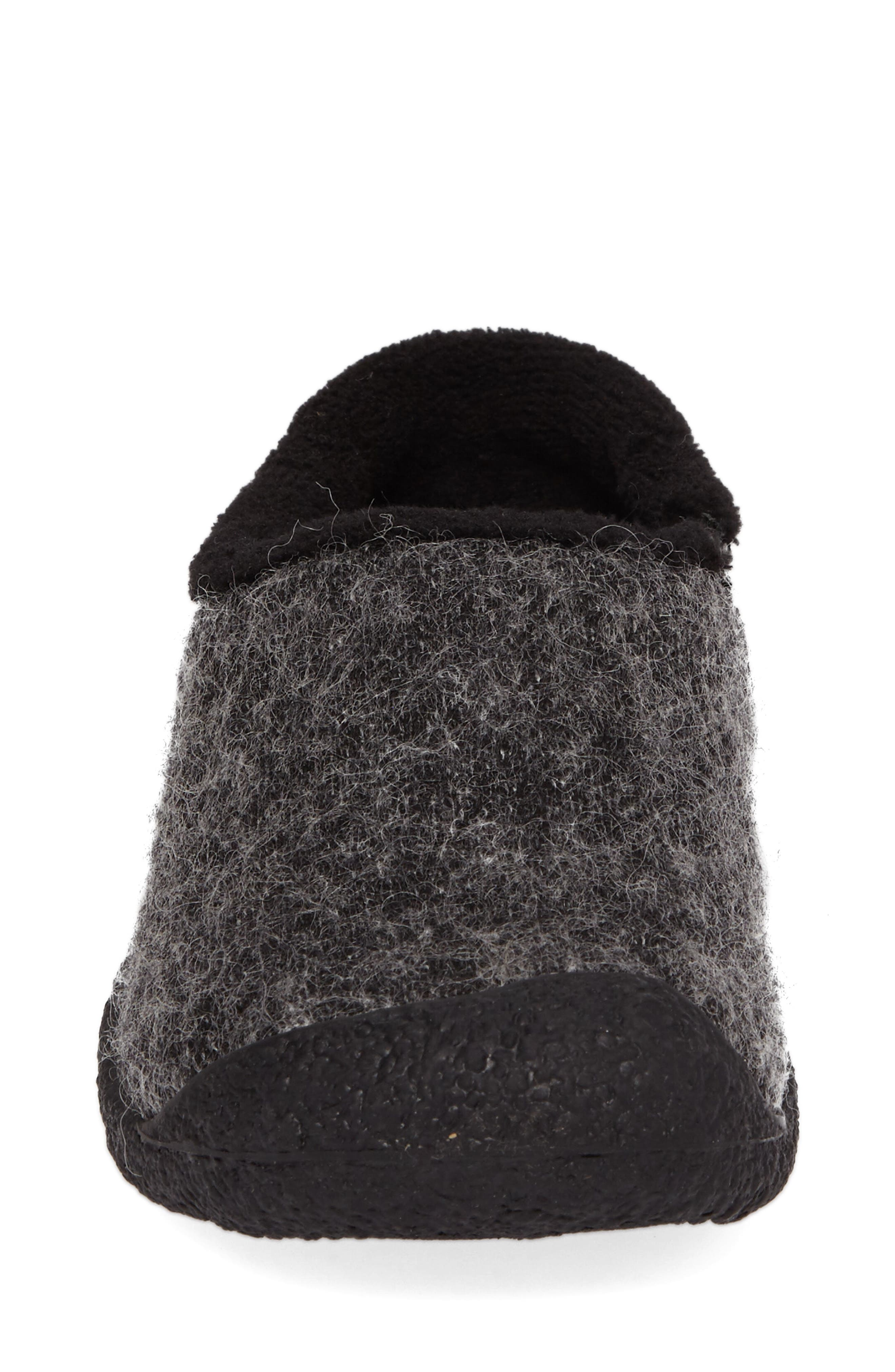 Howser Round Toe Wool Slip-on,                             Alternate thumbnail 4, color,                             001