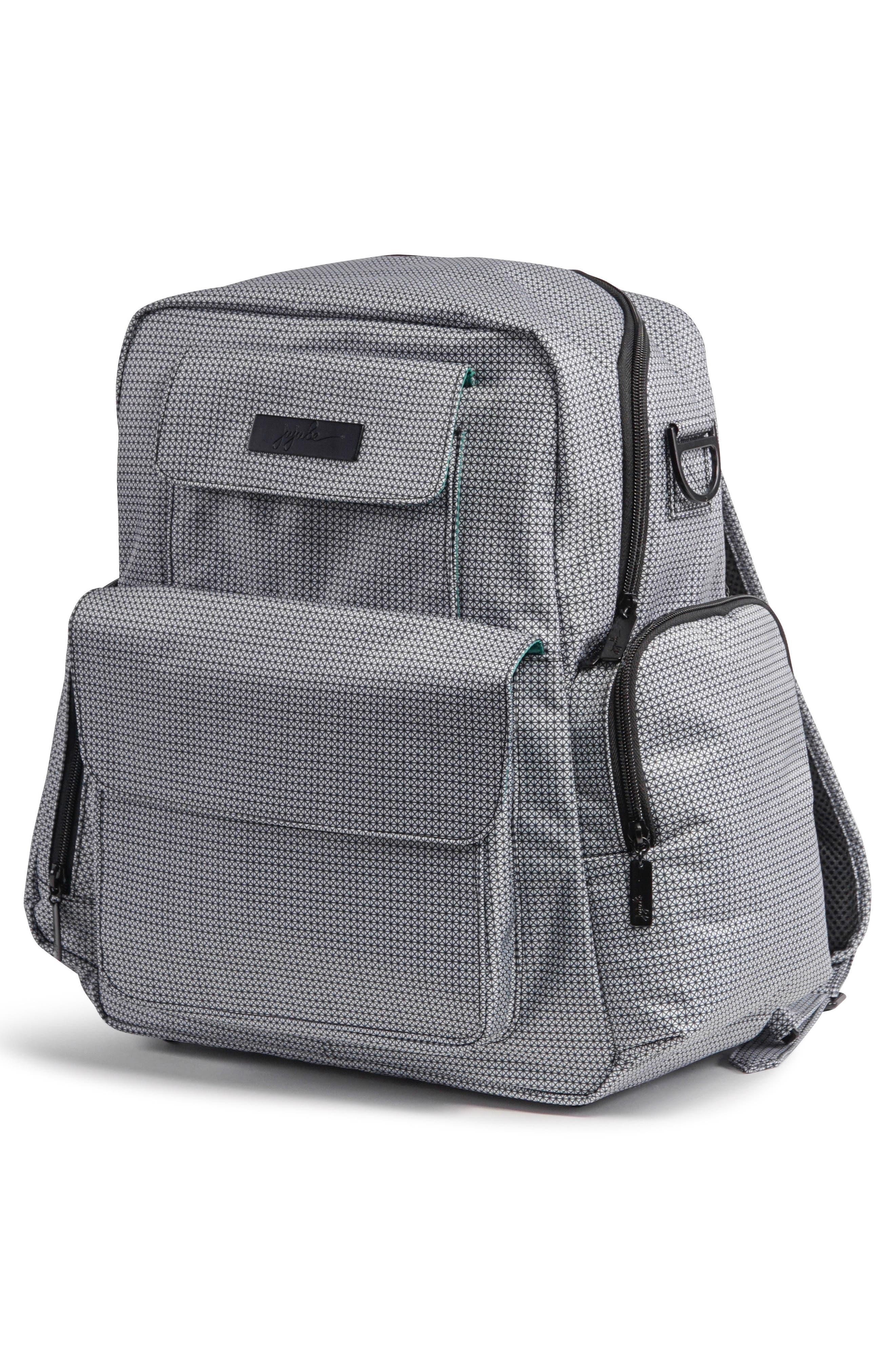 Be Nurtured Pumping Backpack,                             Alternate thumbnail 8, color,                             BLACK MATRIX