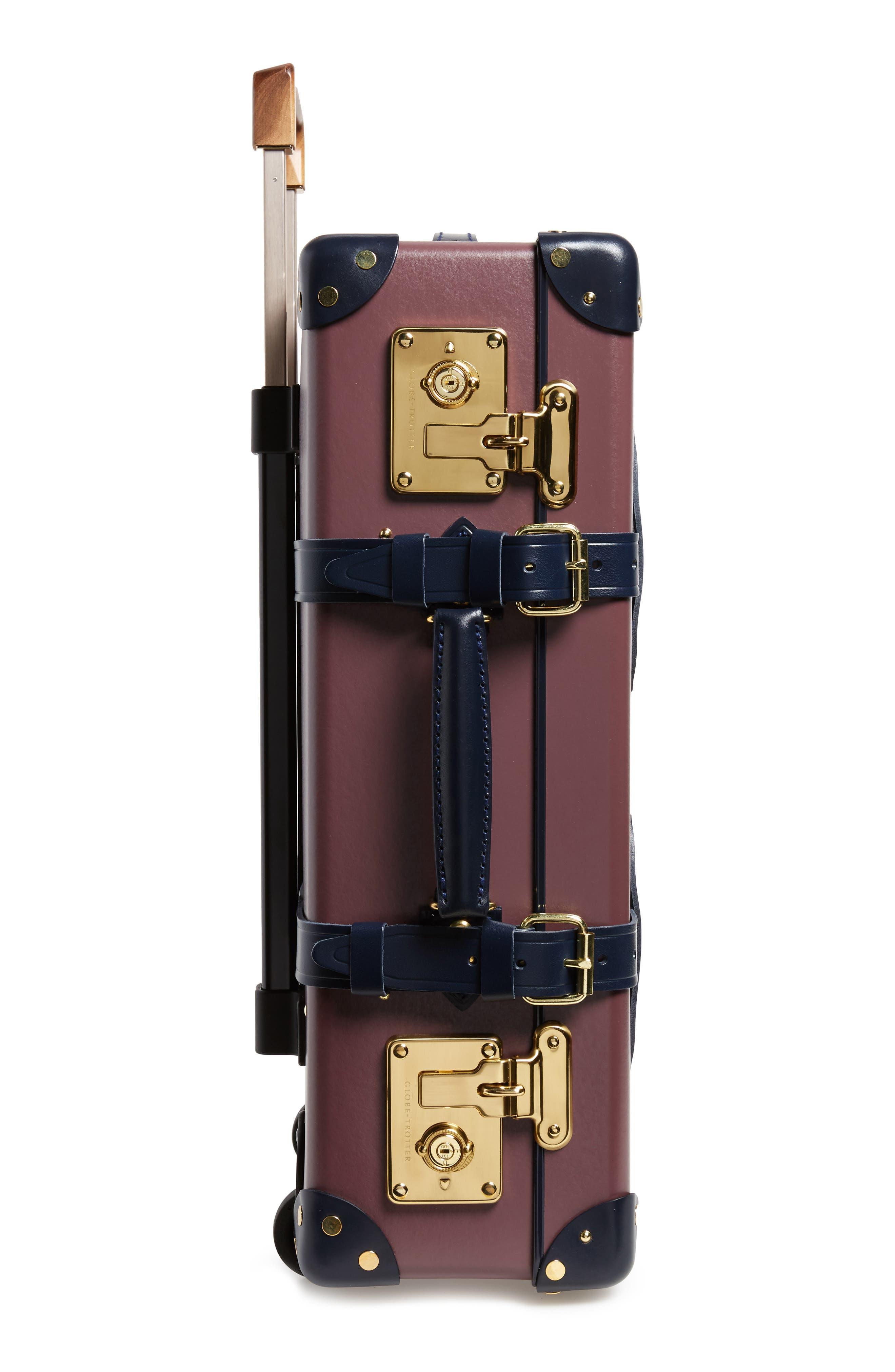 Brinjal 21-Inch Hardshell Travel Trolley Case,                             Alternate thumbnail 3, color,                             500