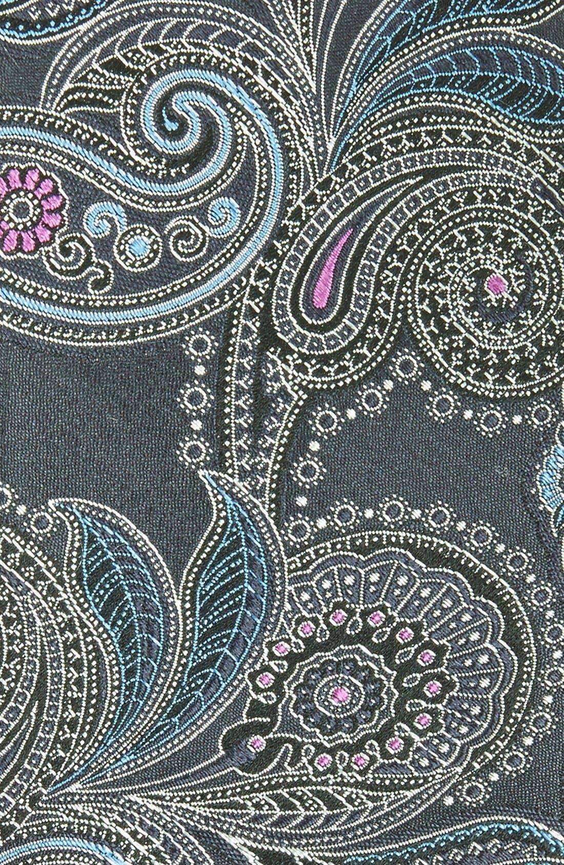 Paisley Silk Tie,                             Alternate thumbnail 2, color,                             402