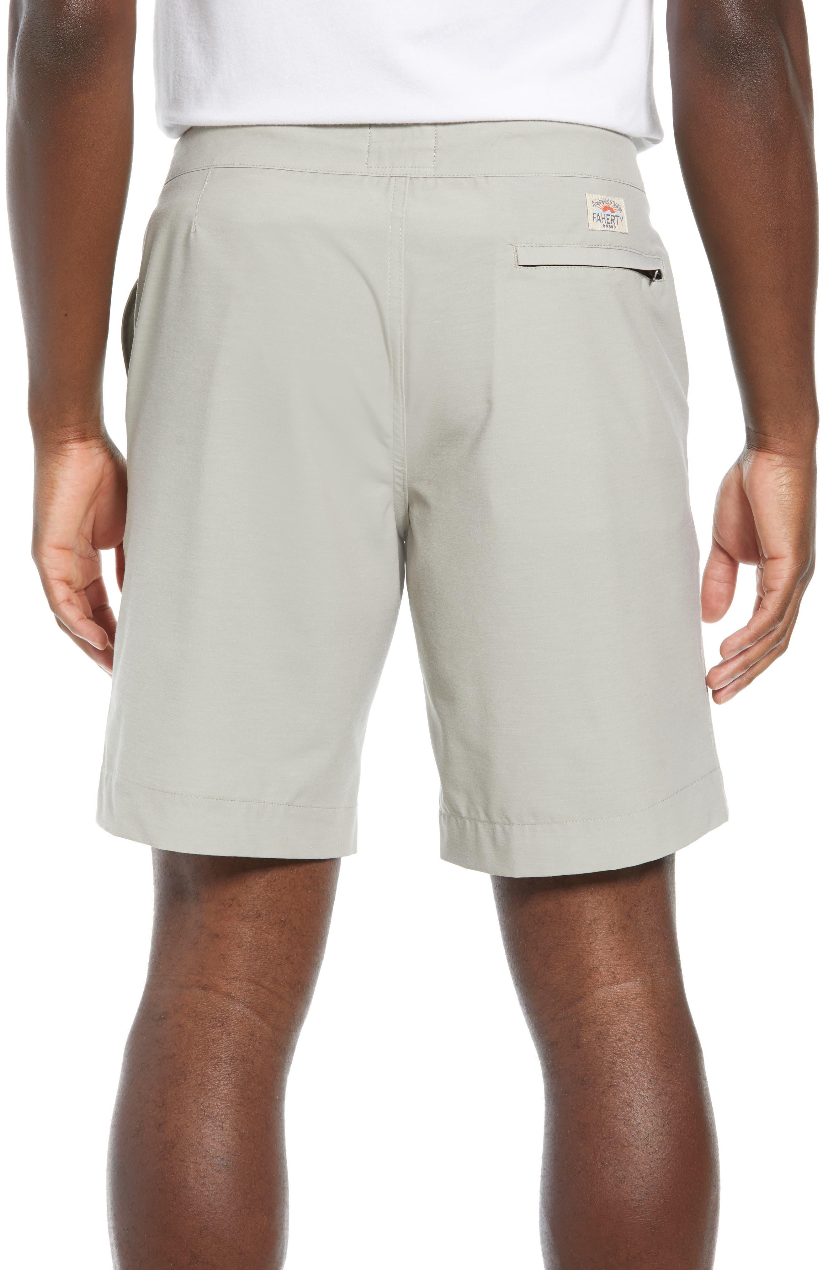 FAHERTY,                             All Day Flat Front Shorts,                             Alternate thumbnail 2, color,                             KHAKI