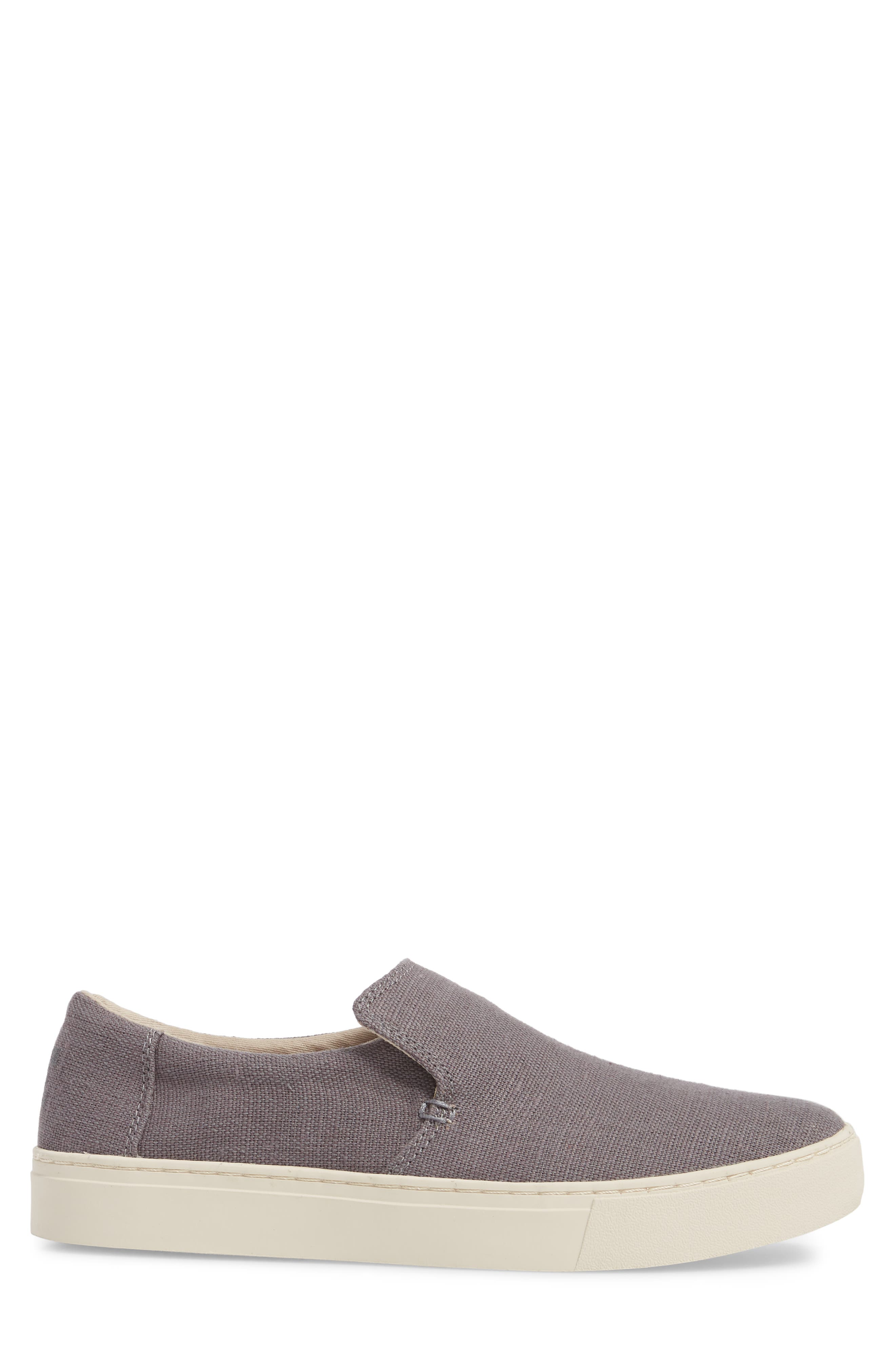 Loma Slip-On Sneaker,                             Alternate thumbnail 3, color,                             SHADE HERITAGE CANVAS