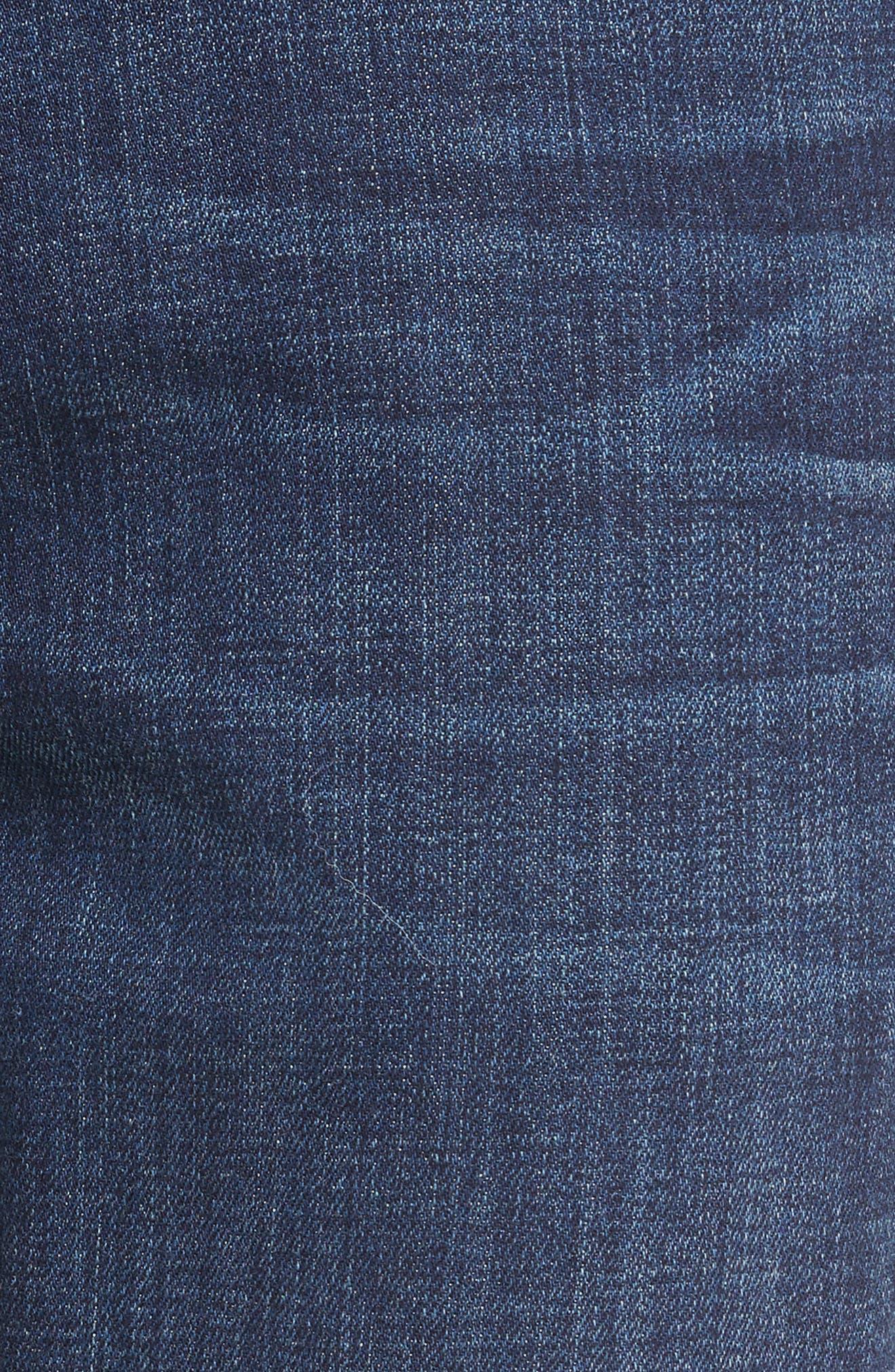 Normandie Straight Leg Jeans,                             Alternate thumbnail 5, color,                             ANGELO