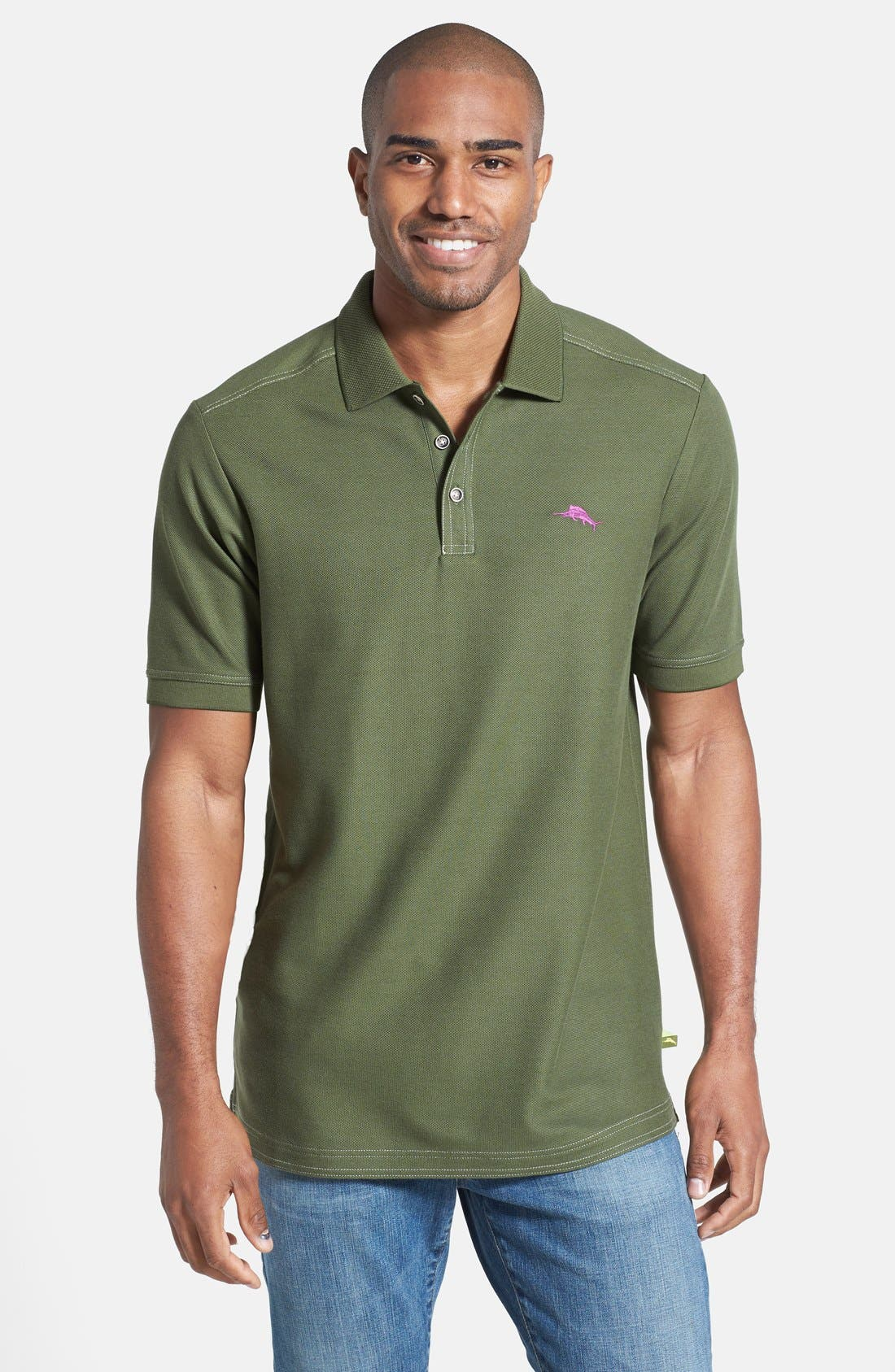 'The Emfielder' Original Fit Piqué Polo,                             Main thumbnail 44, color,