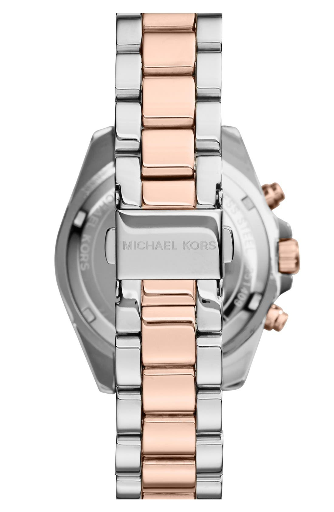 'Bradshaw - Mini' Chronograph Bracelet Watch, 36mm,                             Alternate thumbnail 8, color,