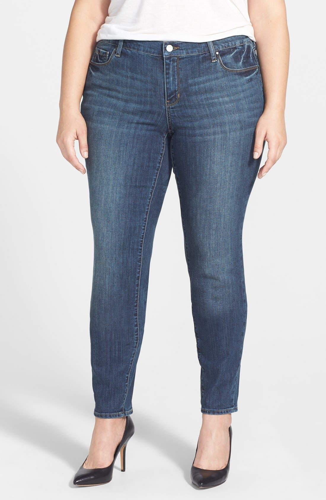 'Soho' Stretch Skinny Jeans,                             Main thumbnail 1, color,                             462