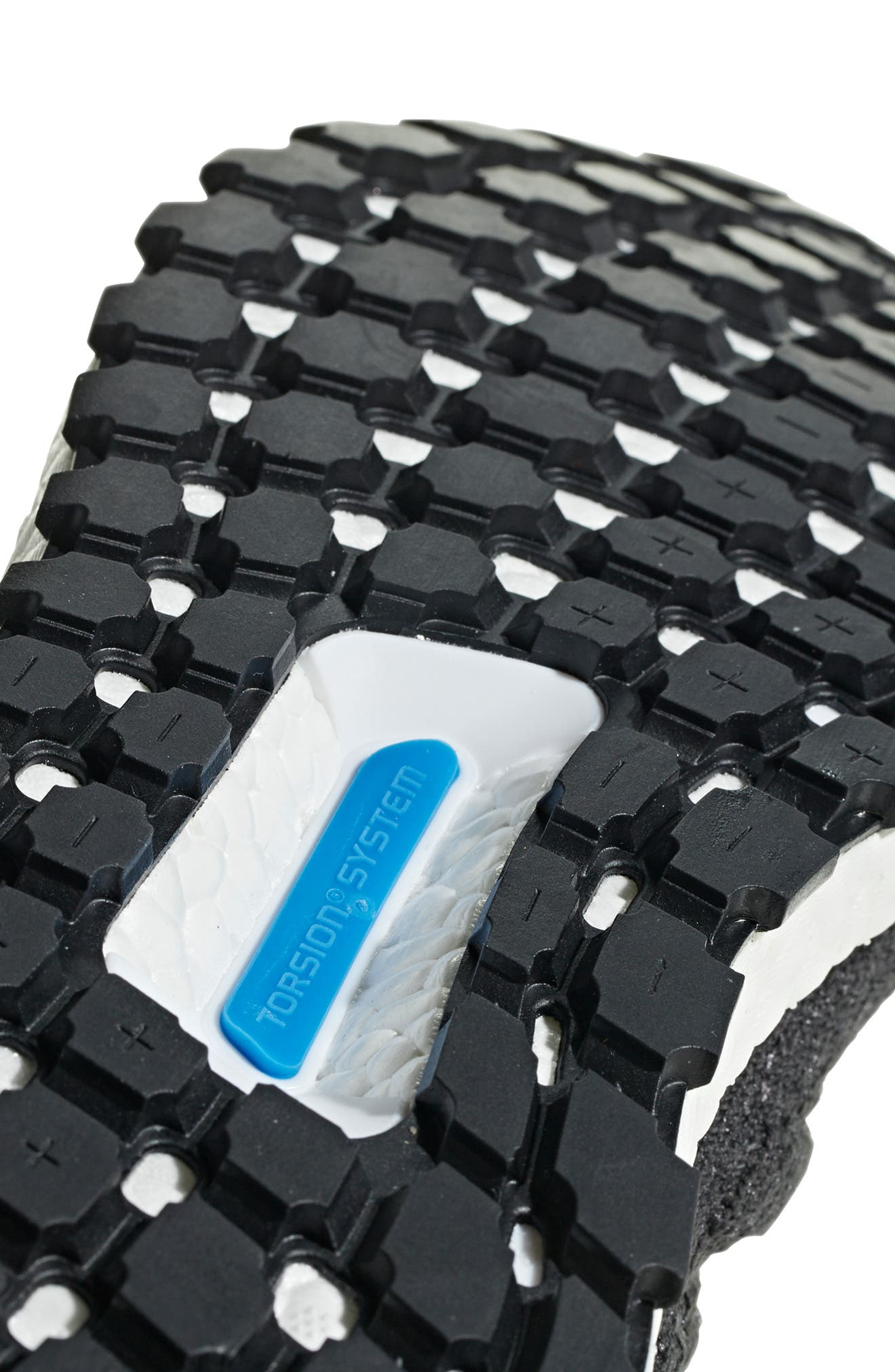 UltraBoost All Terrain Water Resistant Running Shoe,                             Alternate thumbnail 10, color,                             CARBON / CORE BLACK / WHITE