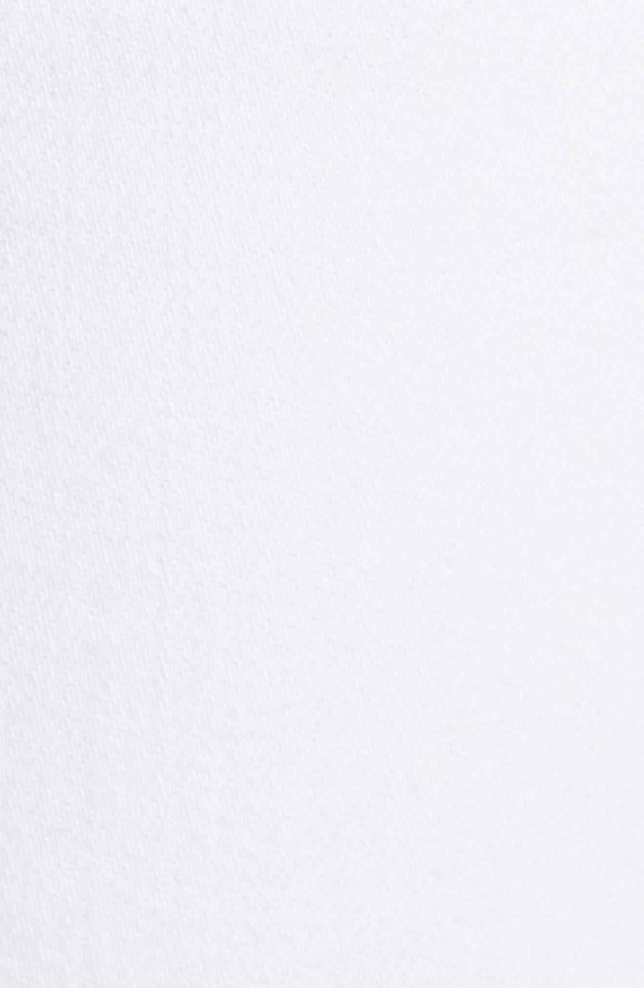 Andie Crop Skinny Jeans,                             Alternate thumbnail 5, color,                             100