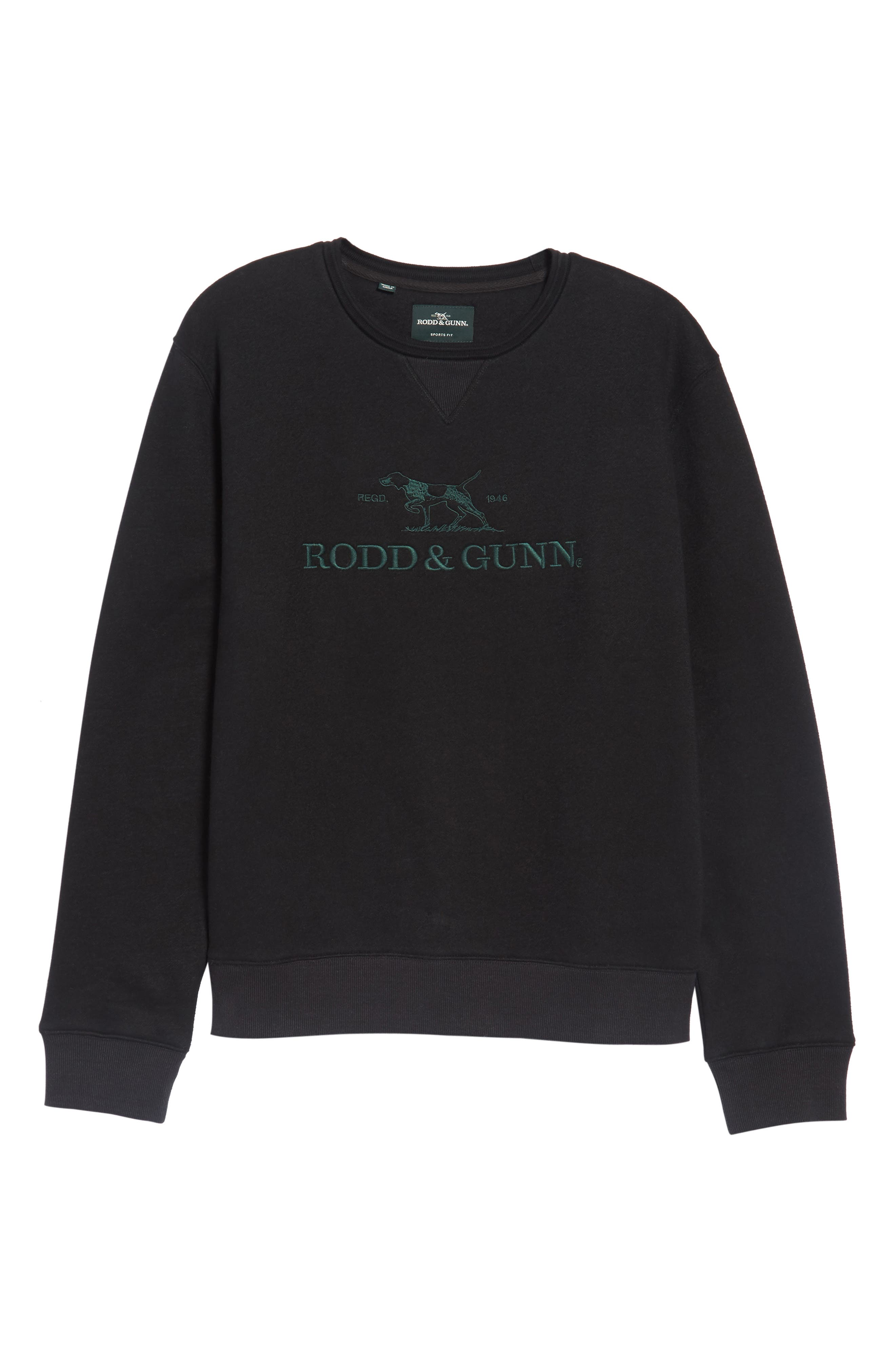 Auckland Logo Embroidered Sweatshirt,                             Alternate thumbnail 6, color,                             001