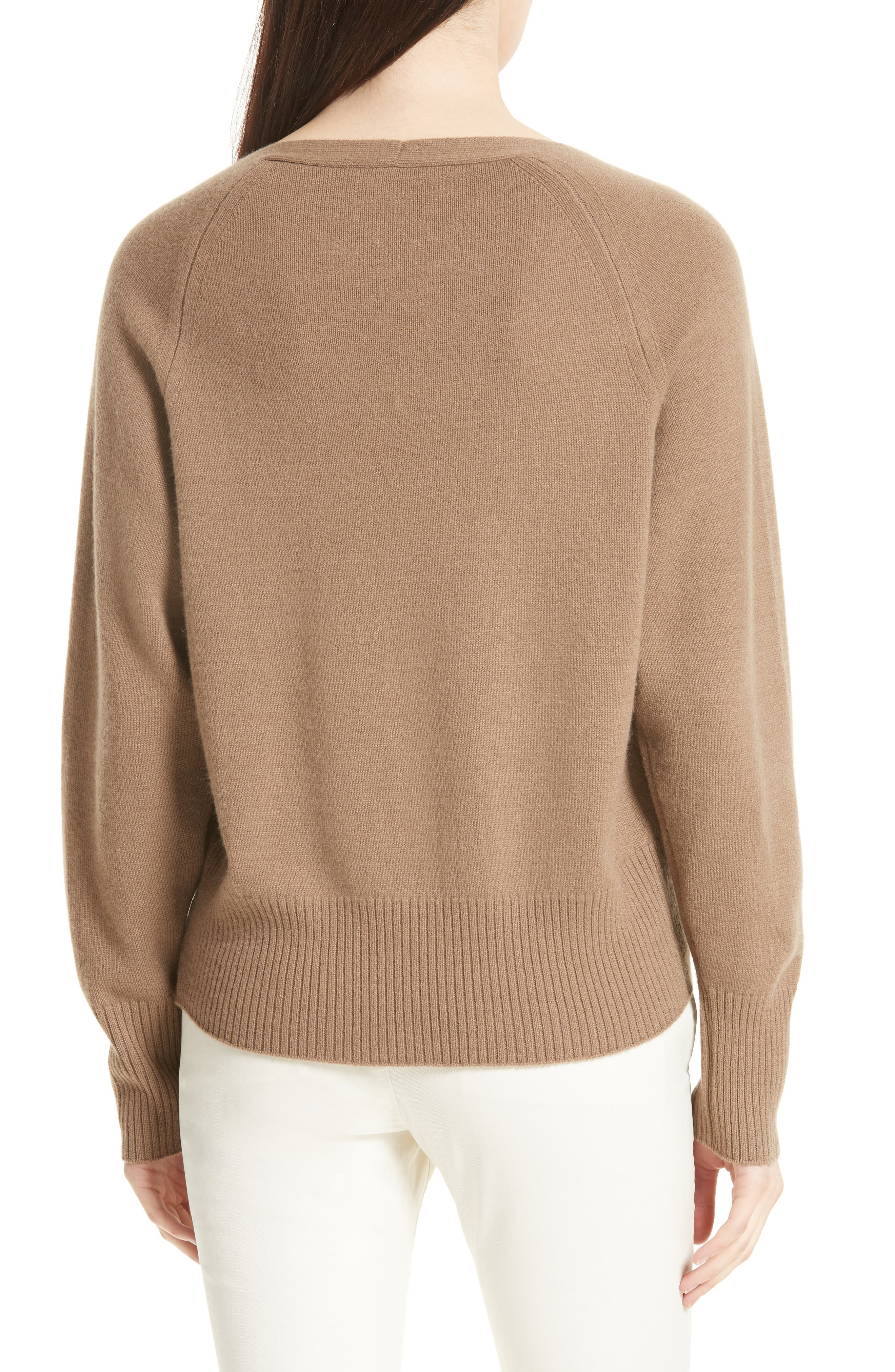 Boat Neck Cashmere Sweater,                             Alternate thumbnail 2, color,                             200