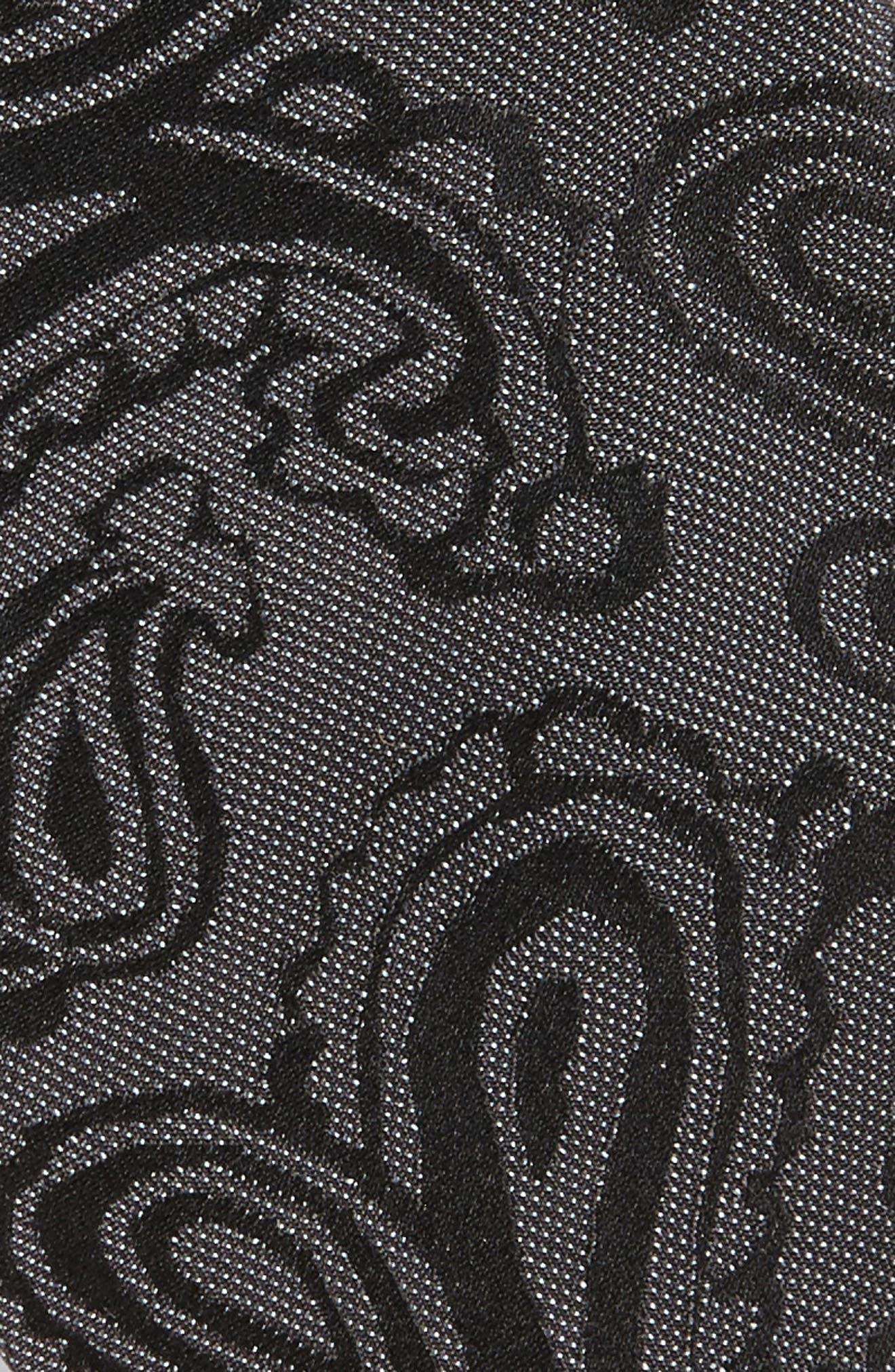 Paisley Silk Skinny Tie,                             Alternate thumbnail 7, color,