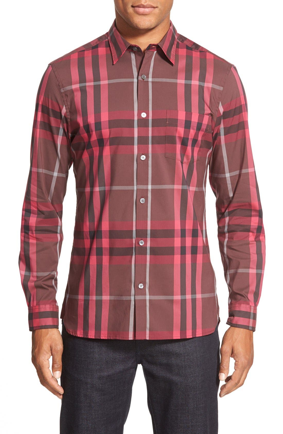 Nelson Check Sport Shirt,                             Main thumbnail 27, color,