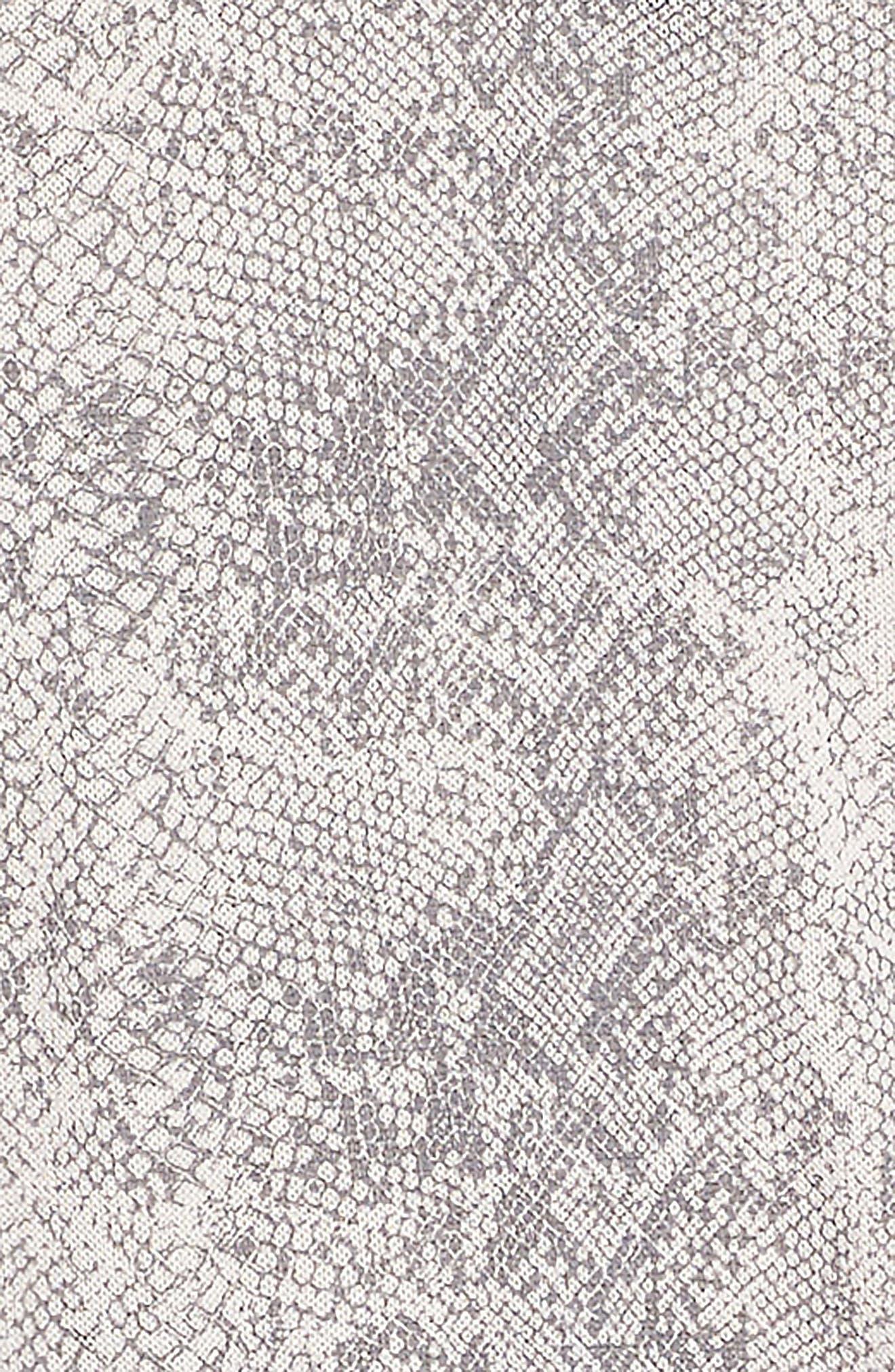 Python Print Loose Knit Dress,                             Alternate thumbnail 3, color,                             655