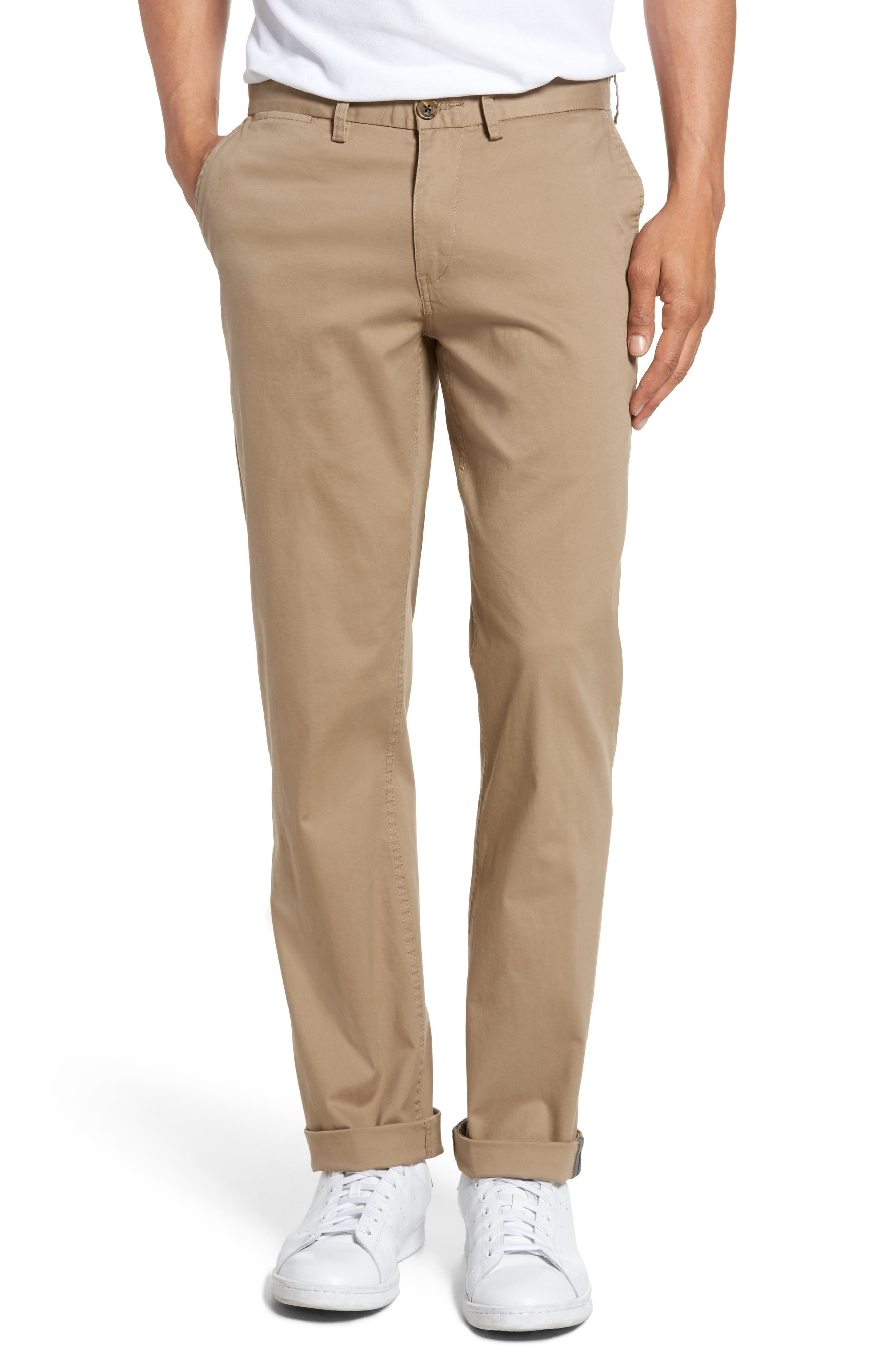 Slim Fit Stretch Chinos,                             Main thumbnail 6, color,