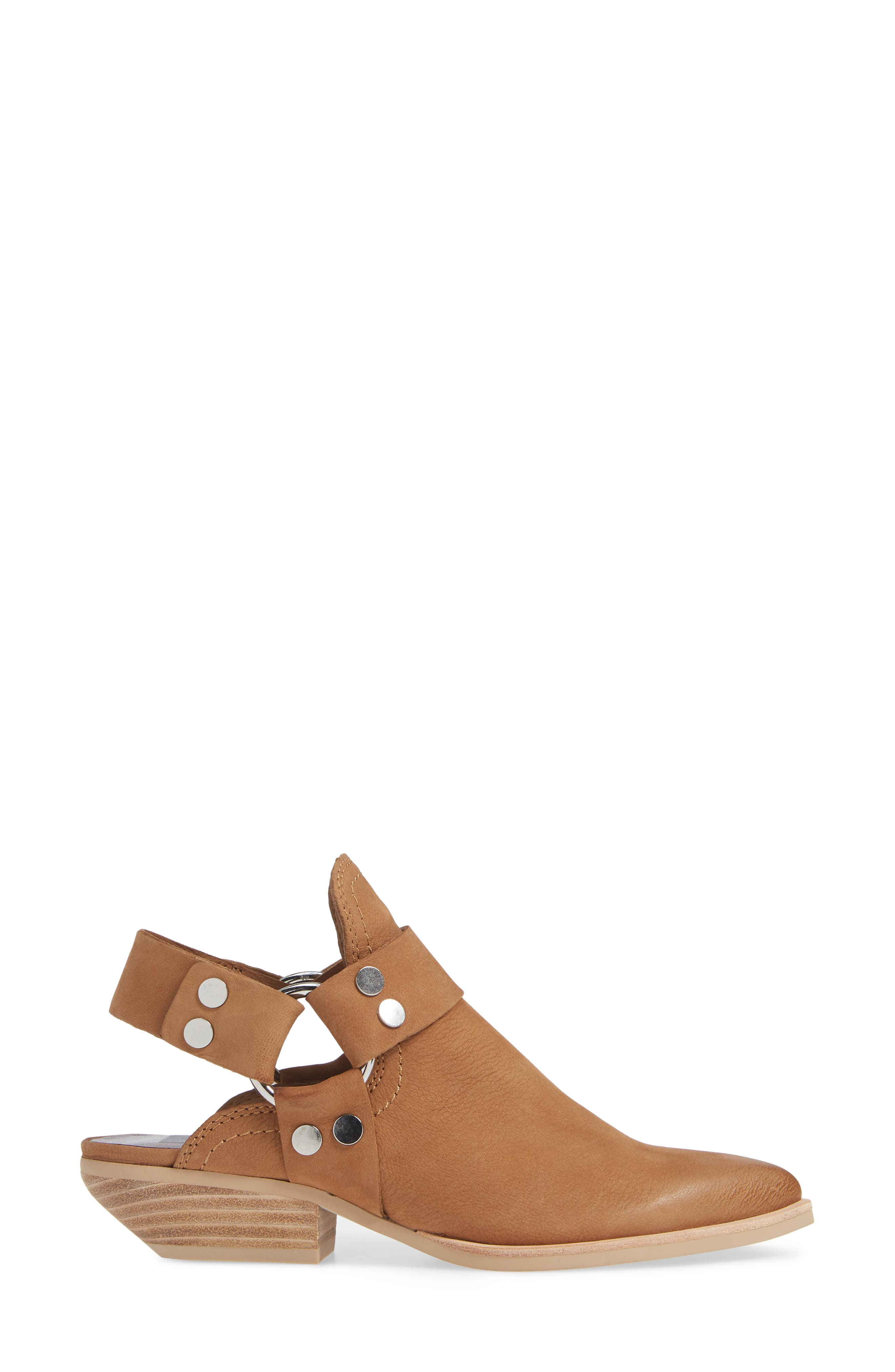 Urban Bootie,                             Alternate thumbnail 3, color,                             TAN NUBUCK LEATHER