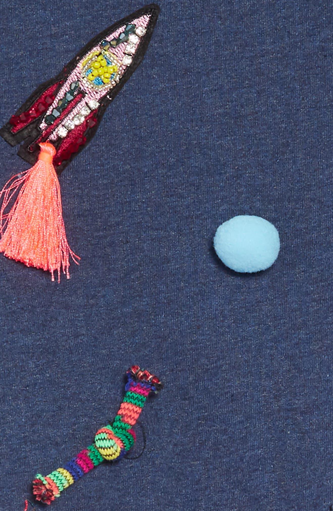 Appliqué Top & Tutu Dress Set,                             Alternate thumbnail 5, color,                             418