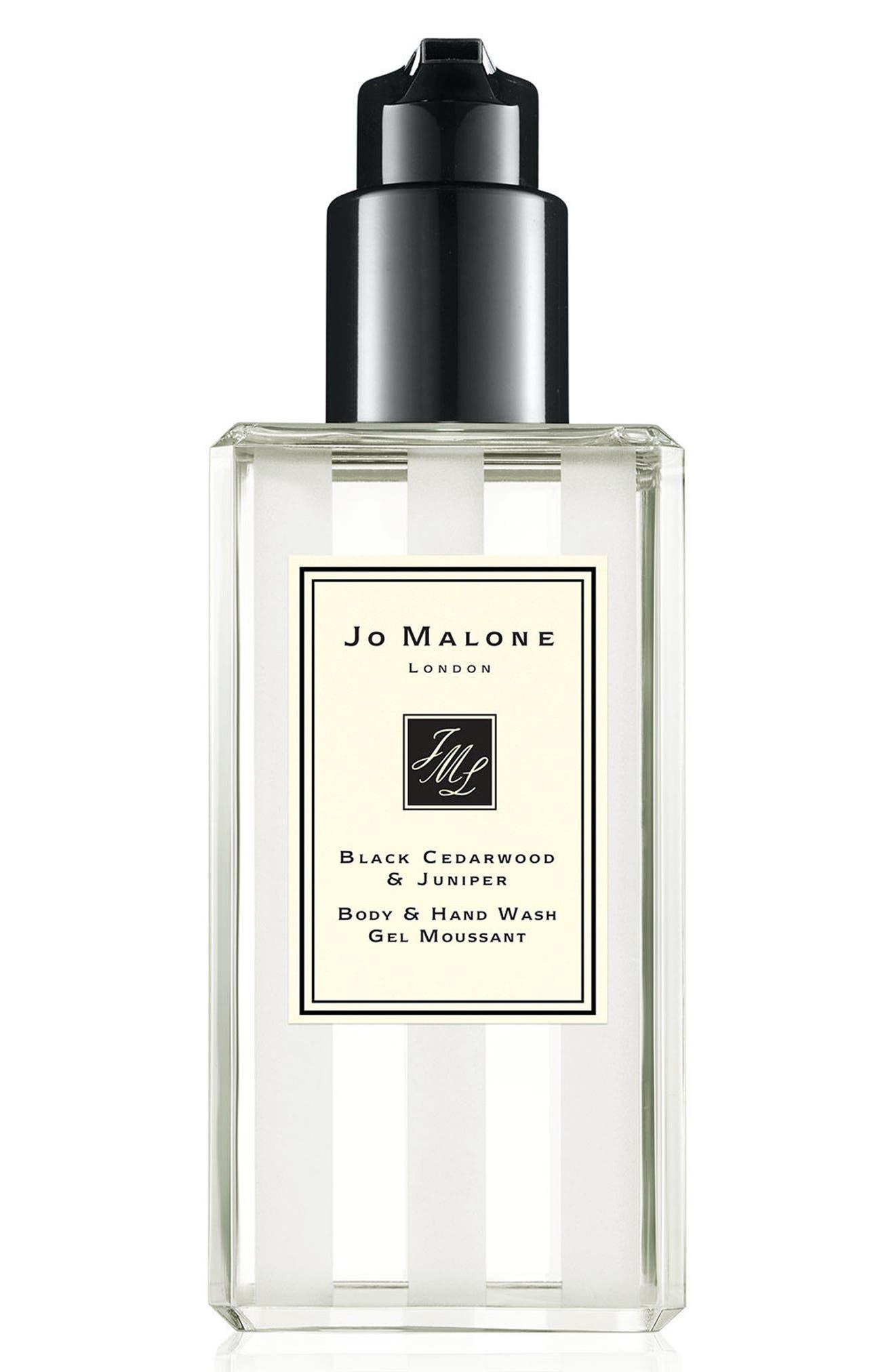 Black Cedarwood & Juniper Body & Hand Wash,                             Main thumbnail 1, color,                             NO COLOR