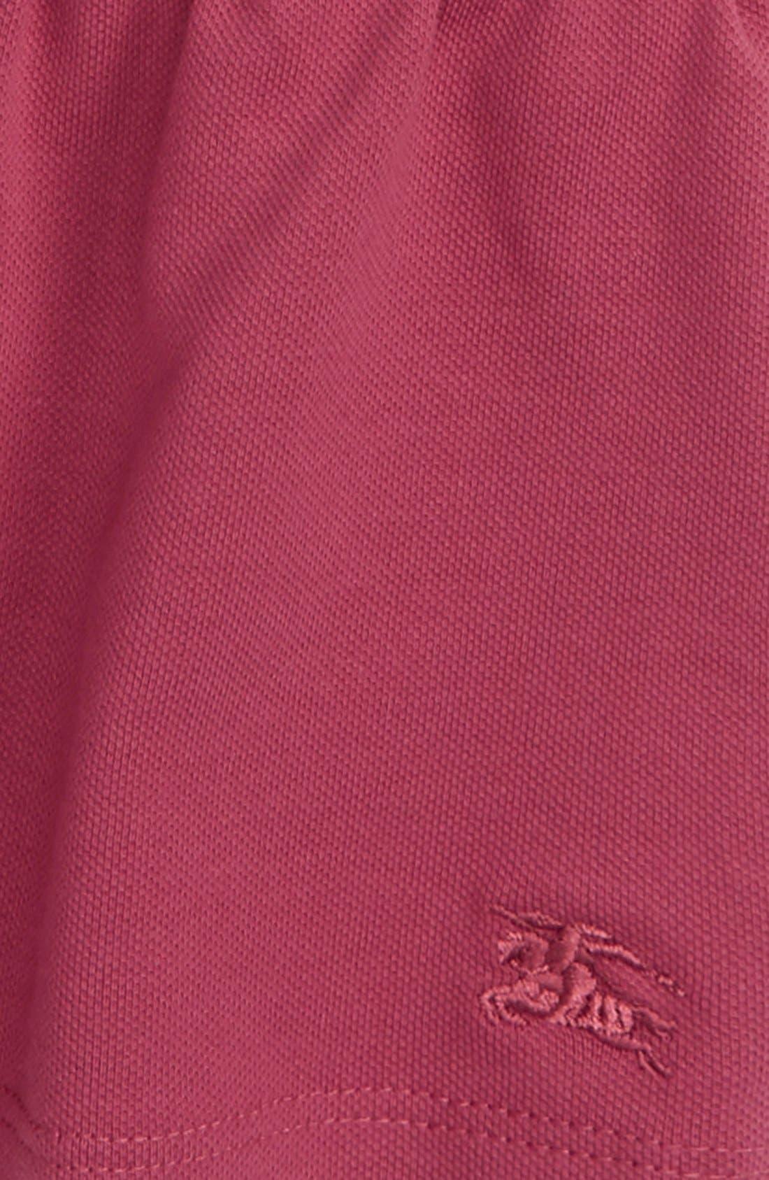 'Mini Cali' Polo Dress,                             Alternate thumbnail 9, color,