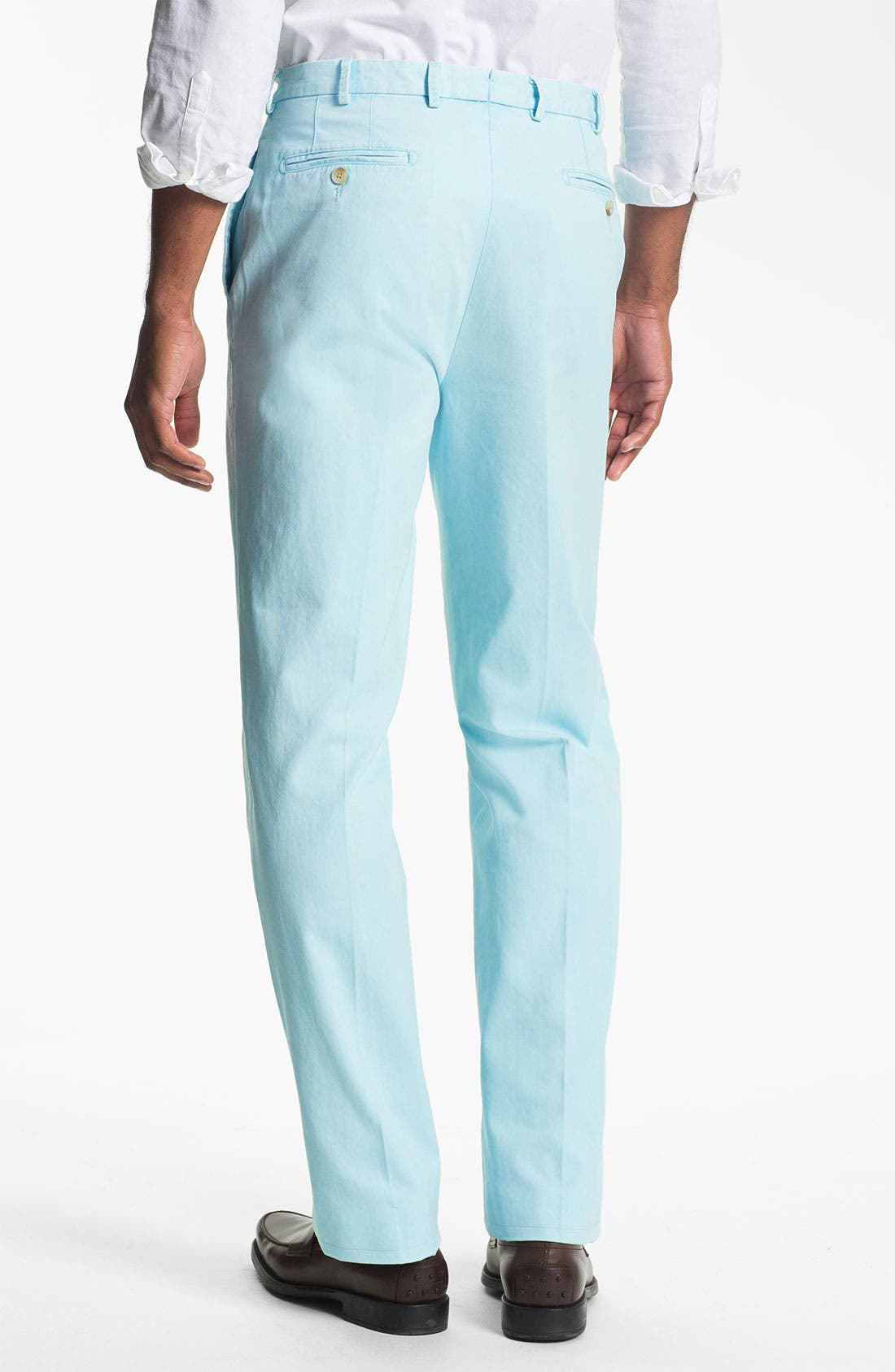 Garment Washed Twill Pants,                             Alternate thumbnail 33, color,