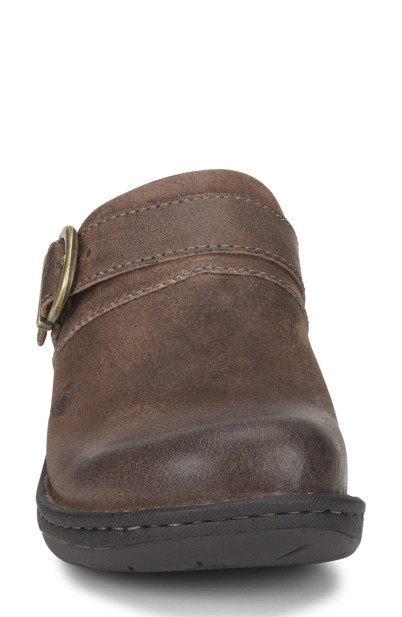 BØRN,                             Avoca Clog,                             Alternate thumbnail 4, color,                             TAUPE DISTRESSED LEATHER