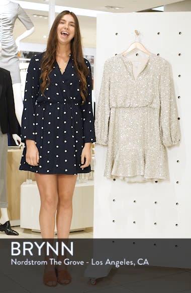Sequin Ruffle Hem Dress, sales video thumbnail