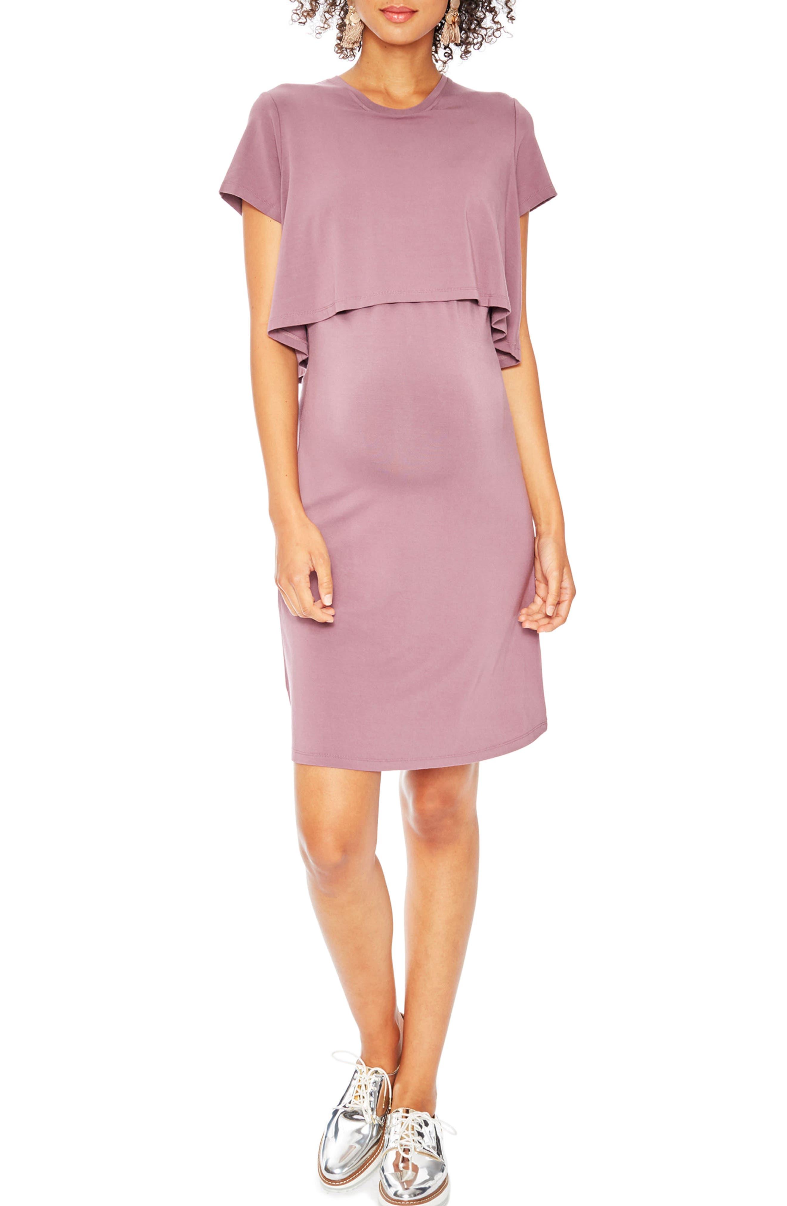 Anita Popover Maternity Dress,                         Main,                         color, 680