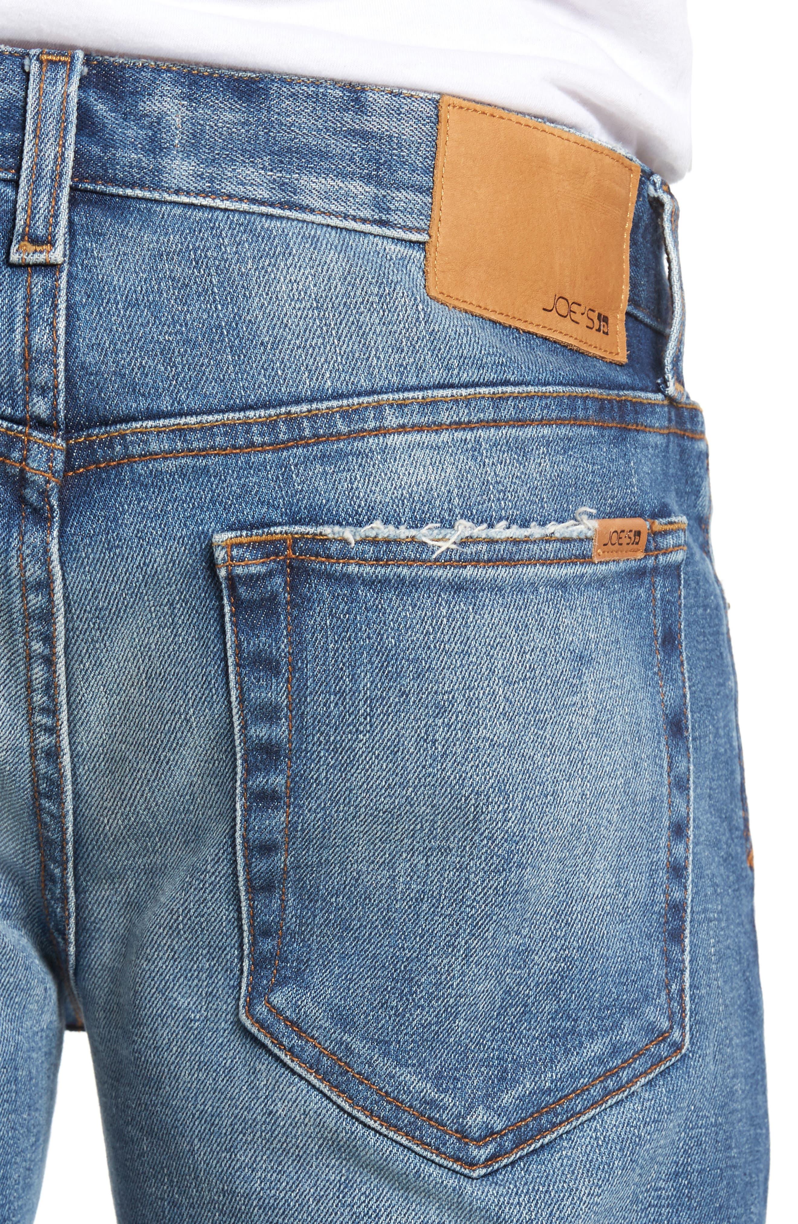 Brixton Slim Fit Jeans,                             Alternate thumbnail 4, color,                             410