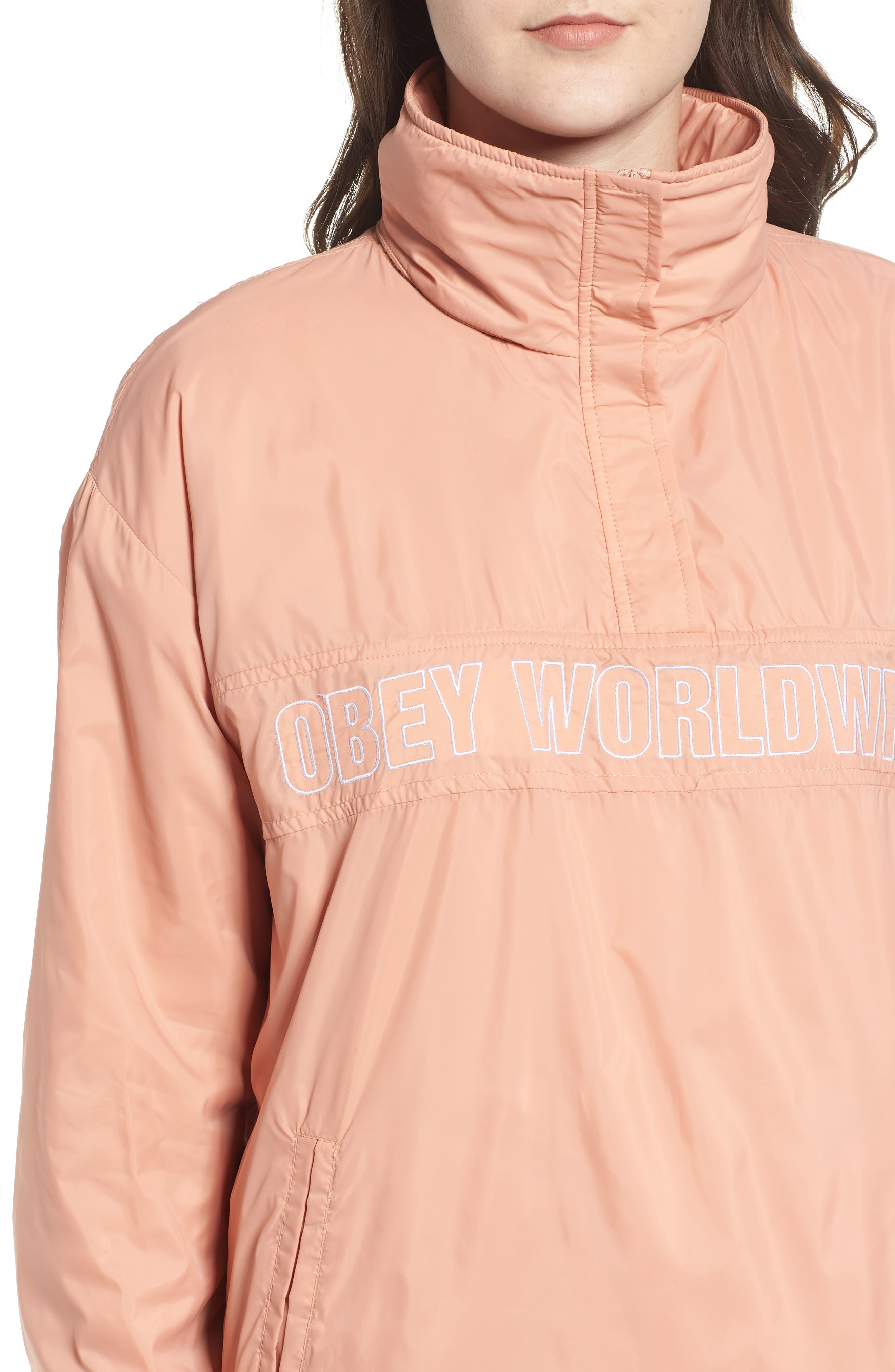 OBEY,                             Bunker Anorak,                             Alternate thumbnail 5, color,                             950