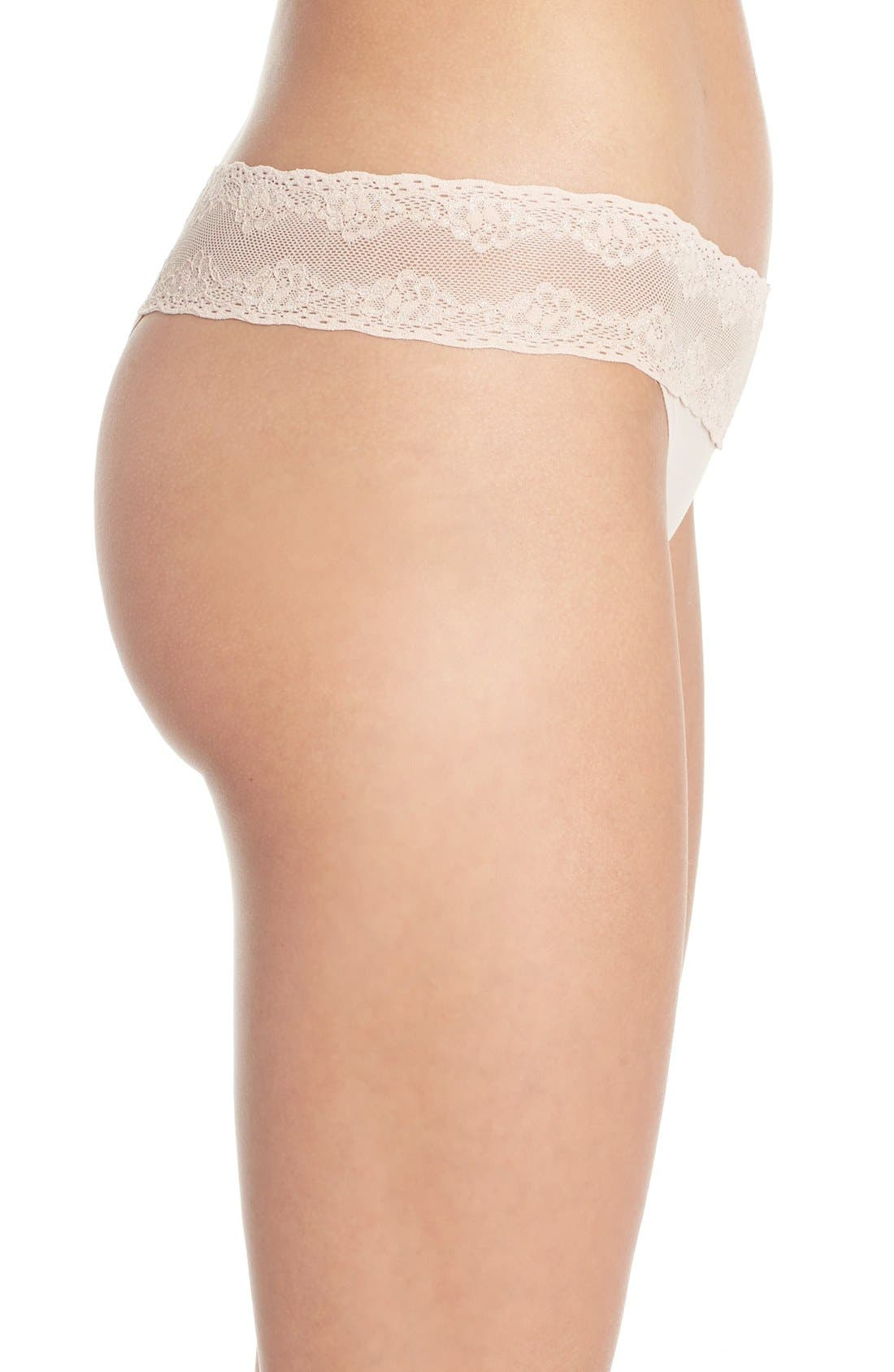 Bliss Perfection Thong,                             Alternate thumbnail 252, color,