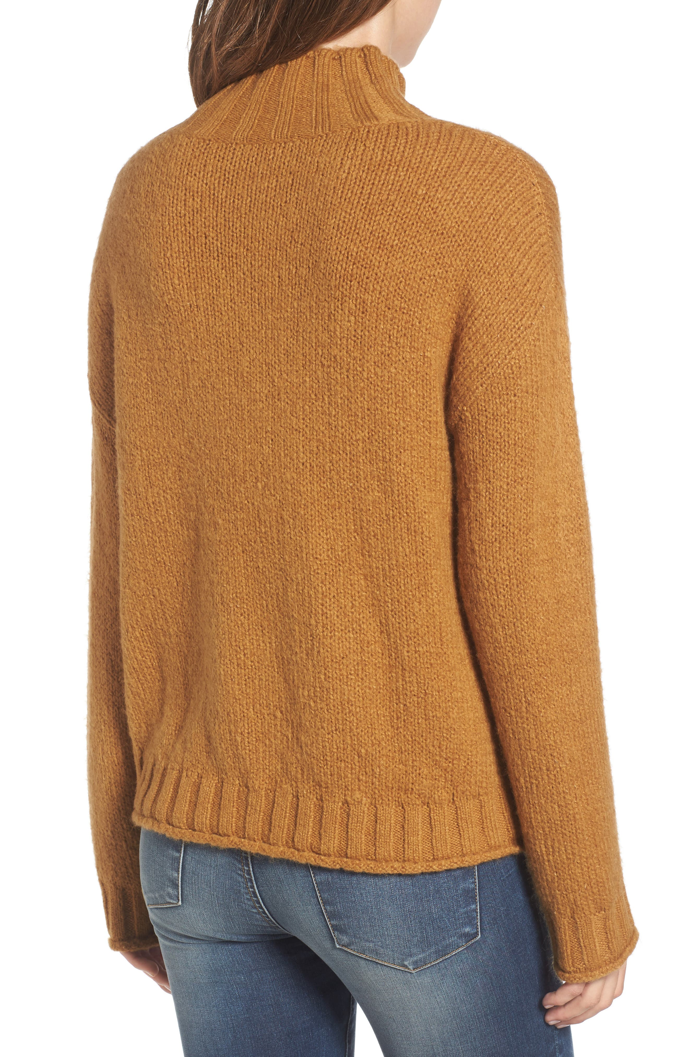 Cozy Mock Neck Sweater,                             Alternate thumbnail 12, color,