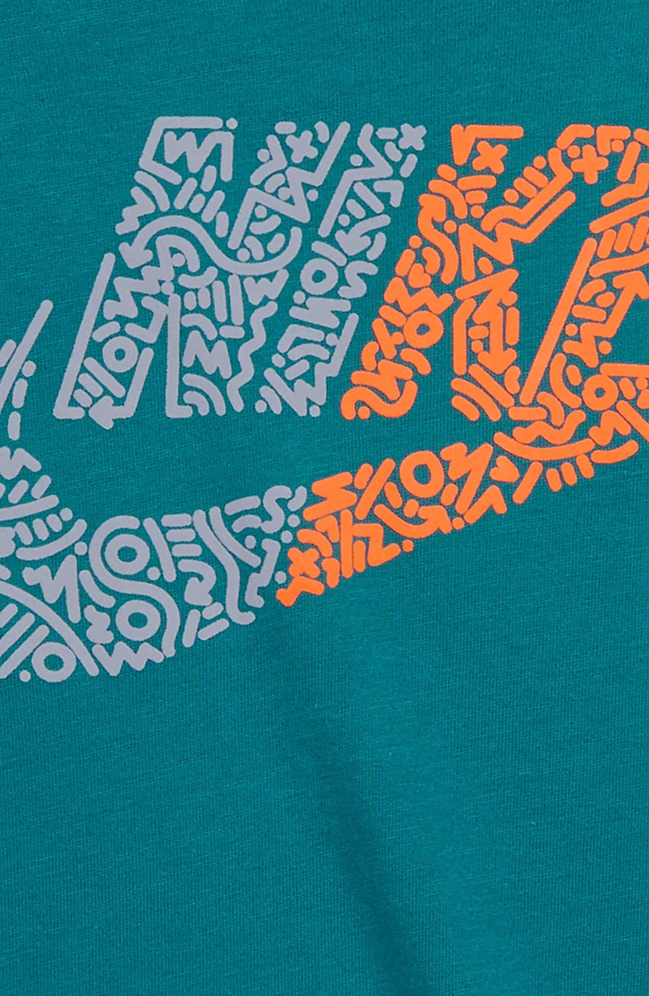 Sportswear Futura T-Shirt,                             Alternate thumbnail 2, color,                             GEODE TEAL/ ASHEN SLATE
