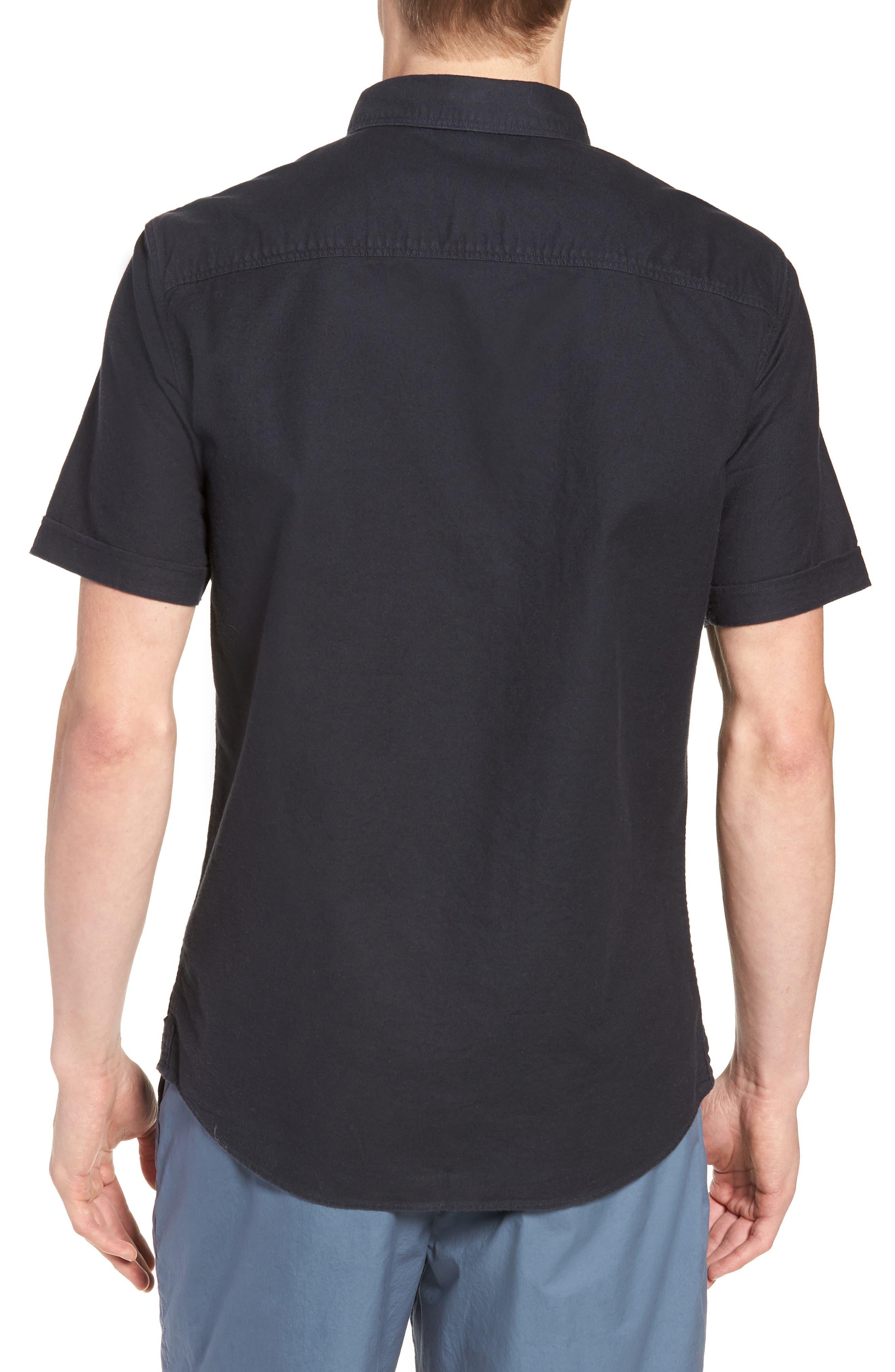Huntington Regular Fit Short Sleeve Sport Shirt,                             Alternate thumbnail 14, color,