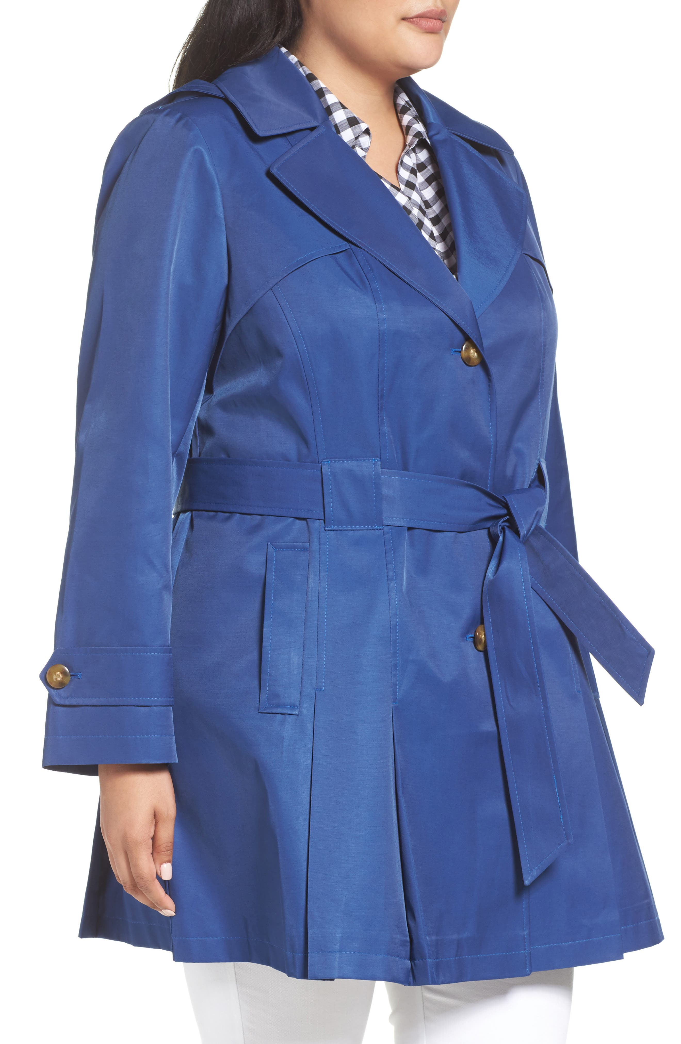 'Scarpa' Single Breasted Trench Coat,                             Alternate thumbnail 16, color,