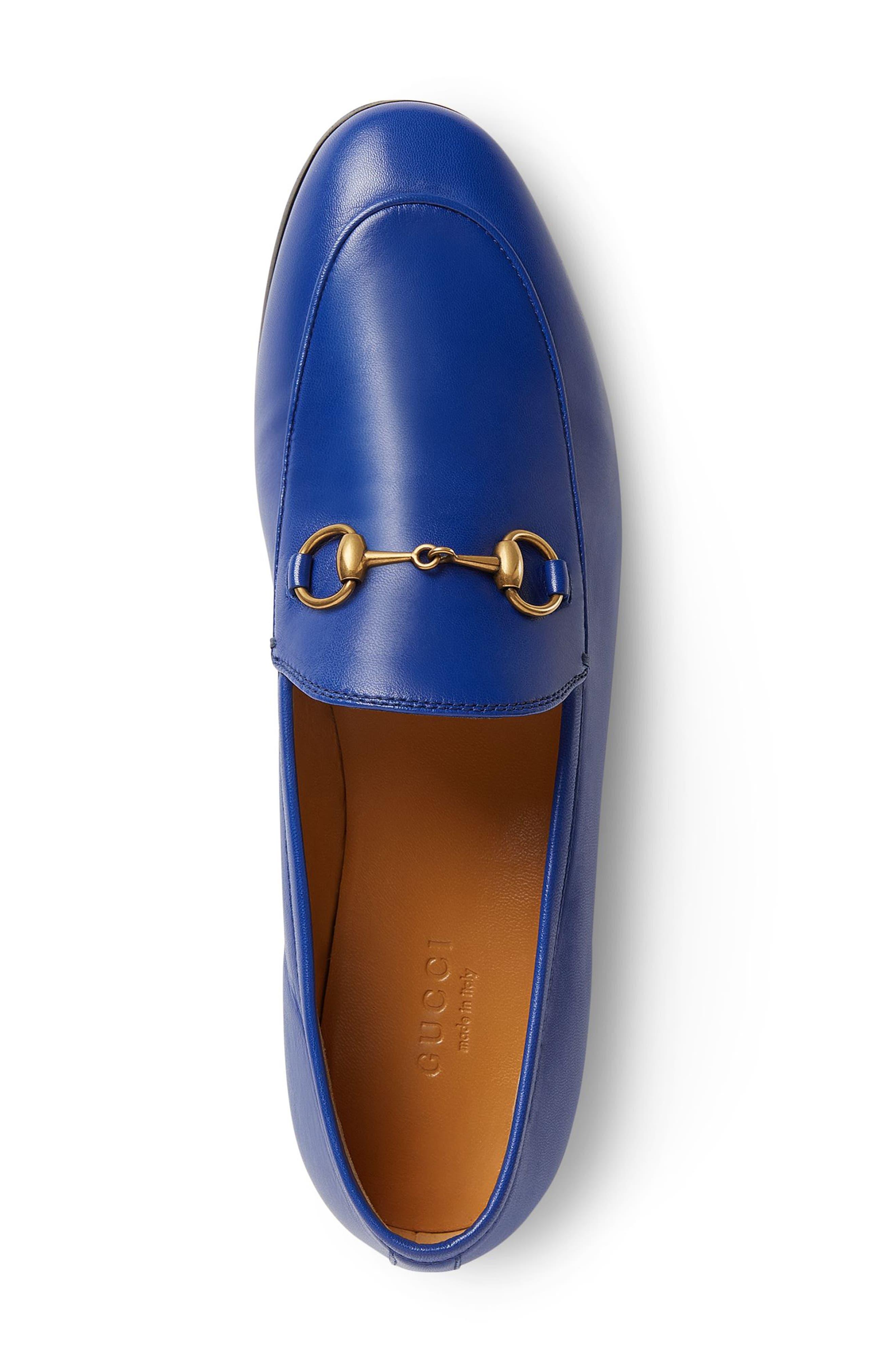 'Jordaan' Loafer,                             Alternate thumbnail 3, color,                             ELECTRIC BLUE