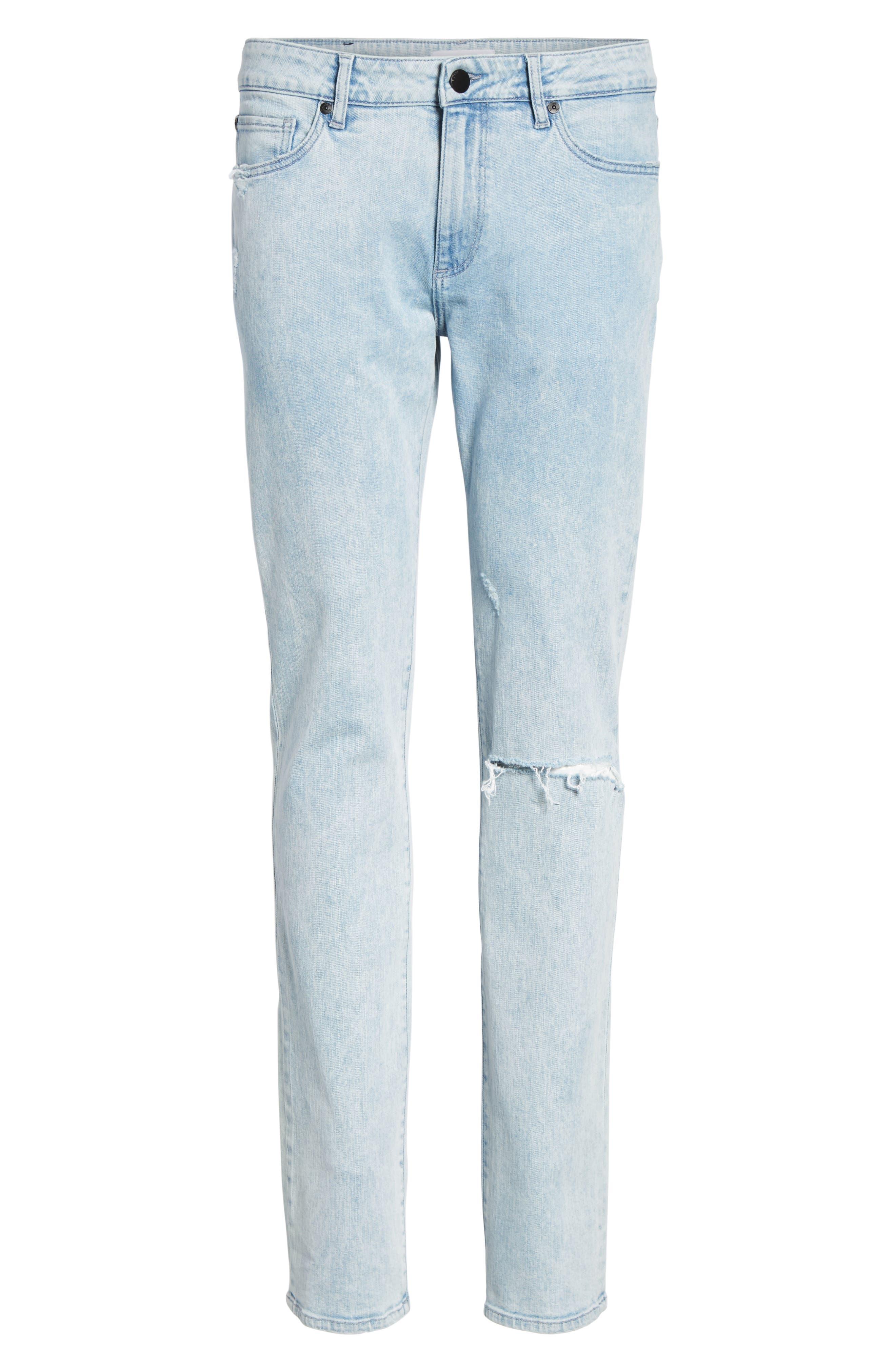 Nick Slim Fit Jeans,                             Alternate thumbnail 6, color,                             TORRENT