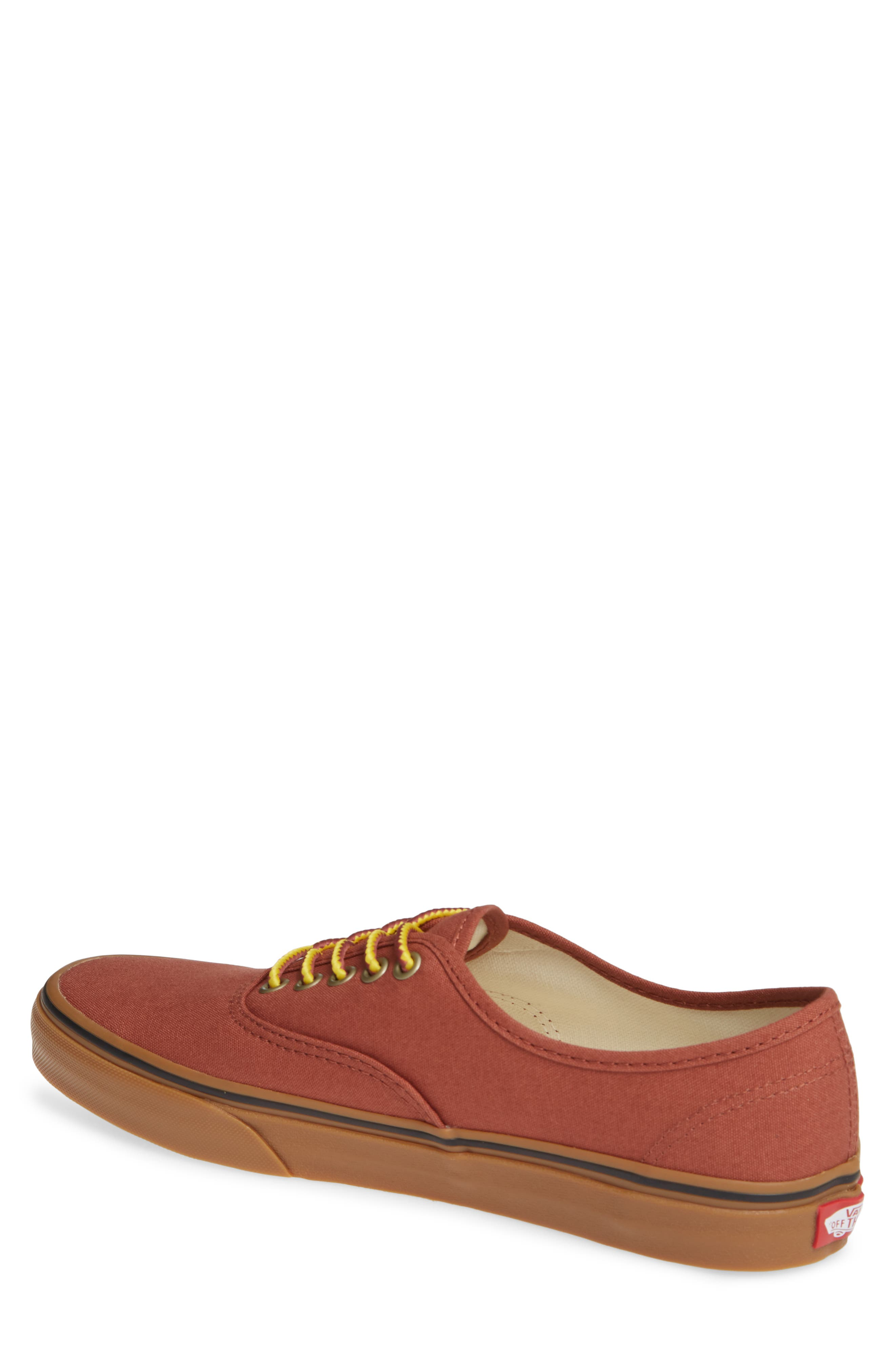 Authentic Sneaker,                             Alternate thumbnail 2, color,                             SEQUOIA/ BROWN
