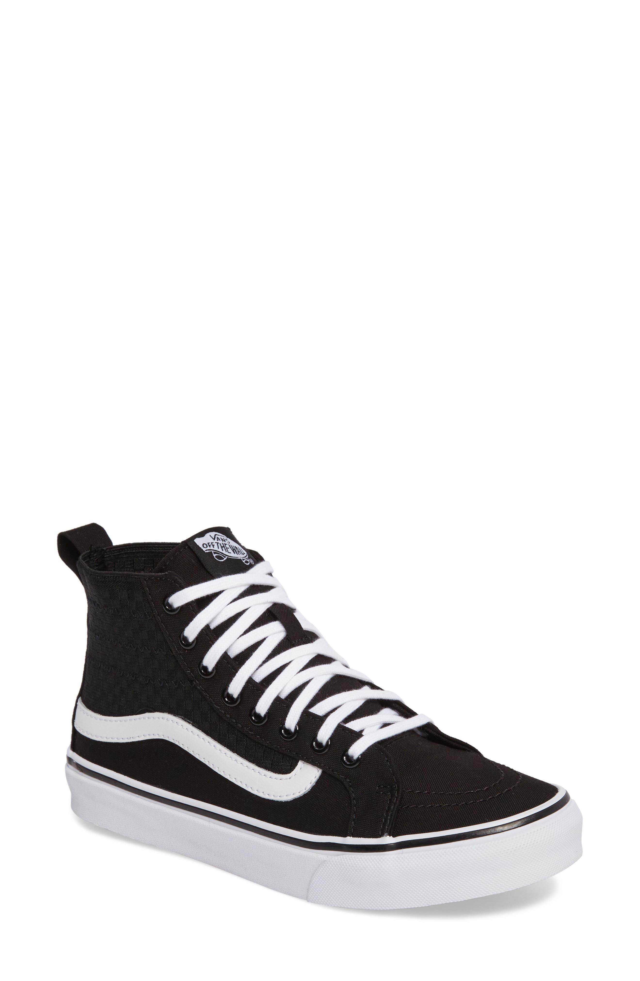 SK8-HI Slim Gore Sneaker,                         Main,                         color, 001